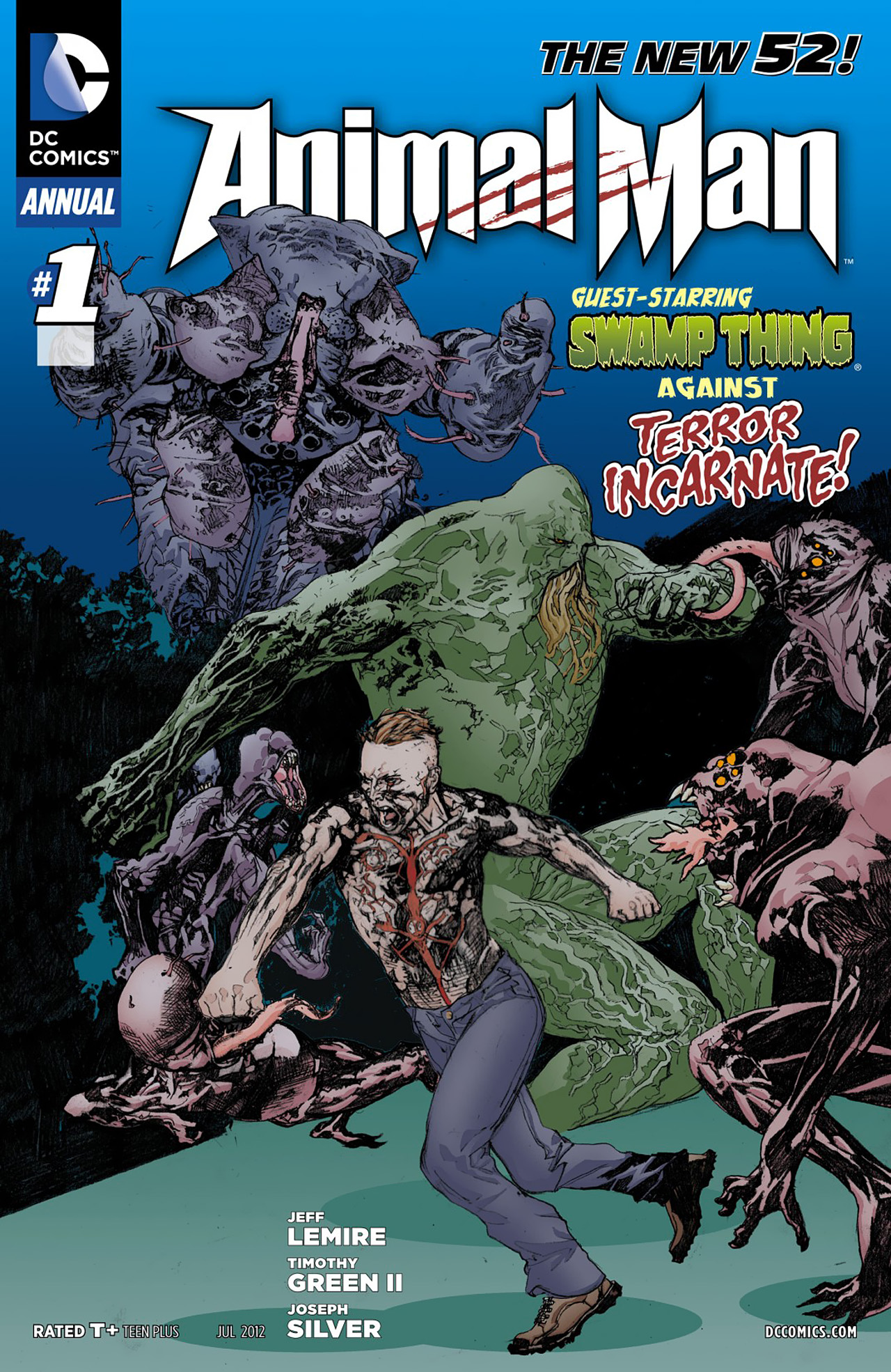 Read online Animal Man (2011) comic -  Issue #Animal Man (2011) _Annual 1 - 1