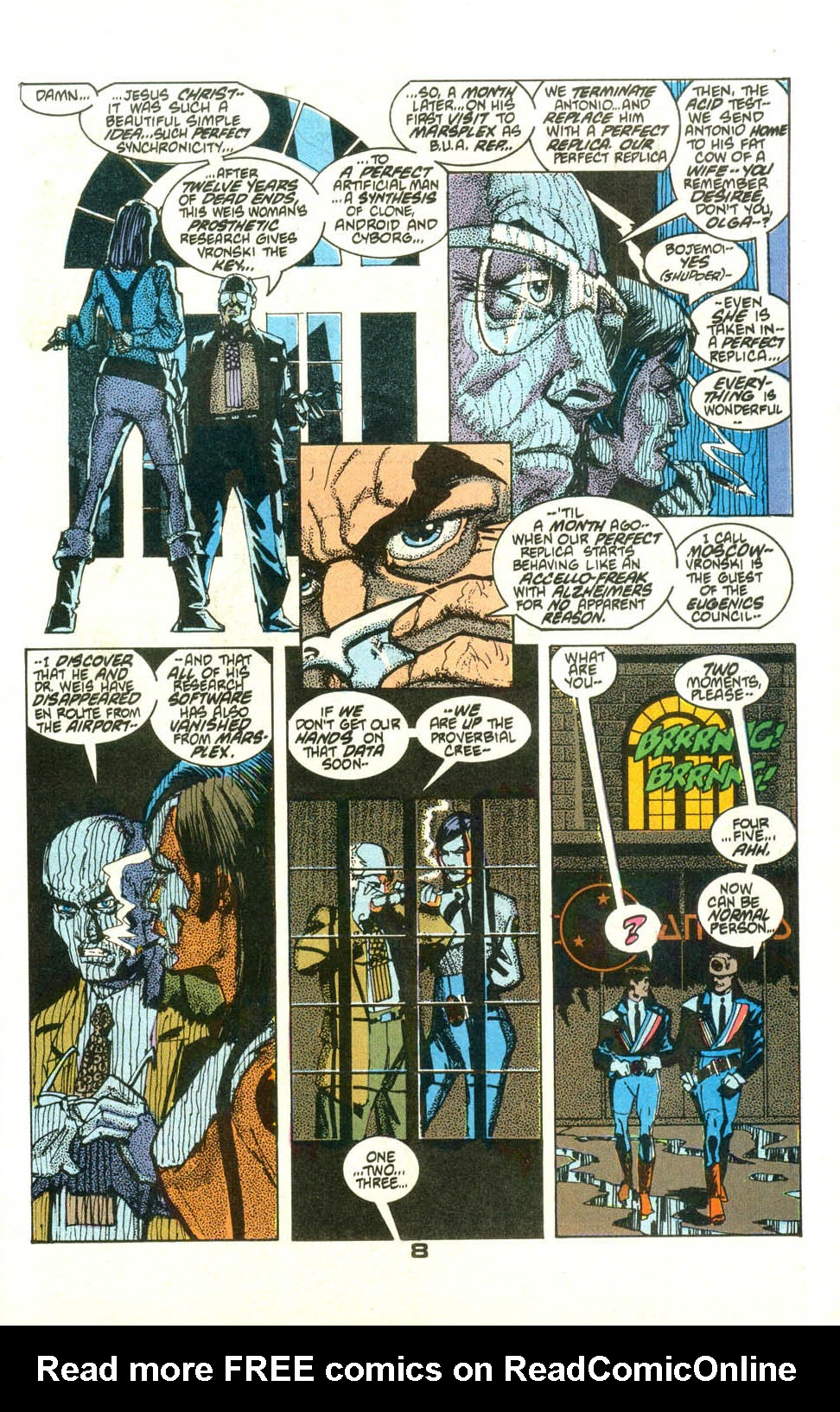 Read online American Flagg! comic -  Issue #23 - 10