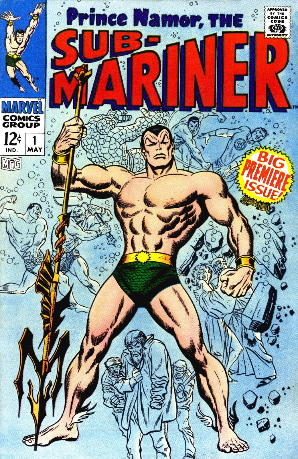 The Sub-Mariner 1 Page 1