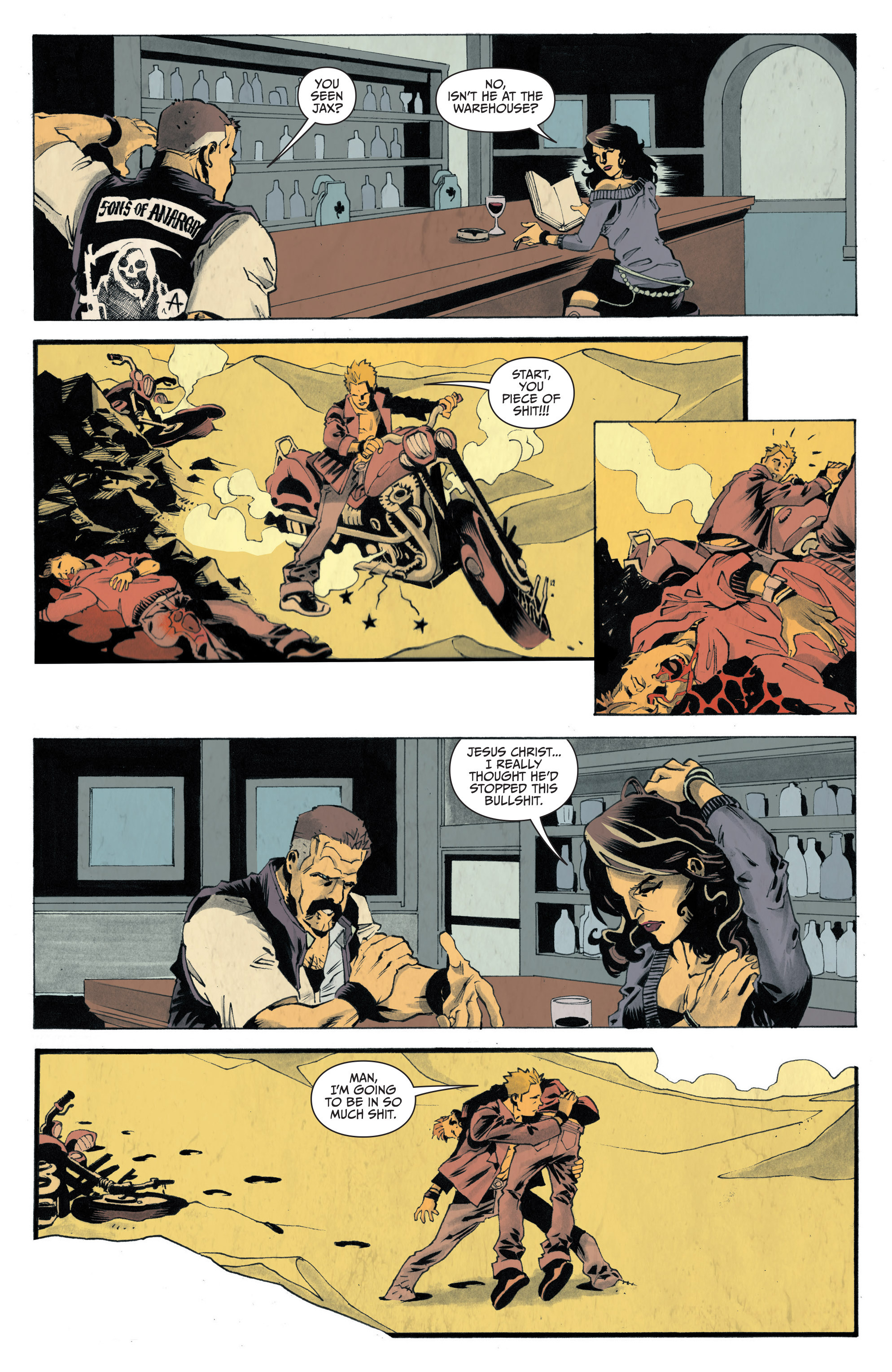 Read online Sons of Anarchy: Redwood Original comic -  Issue #4 - 12