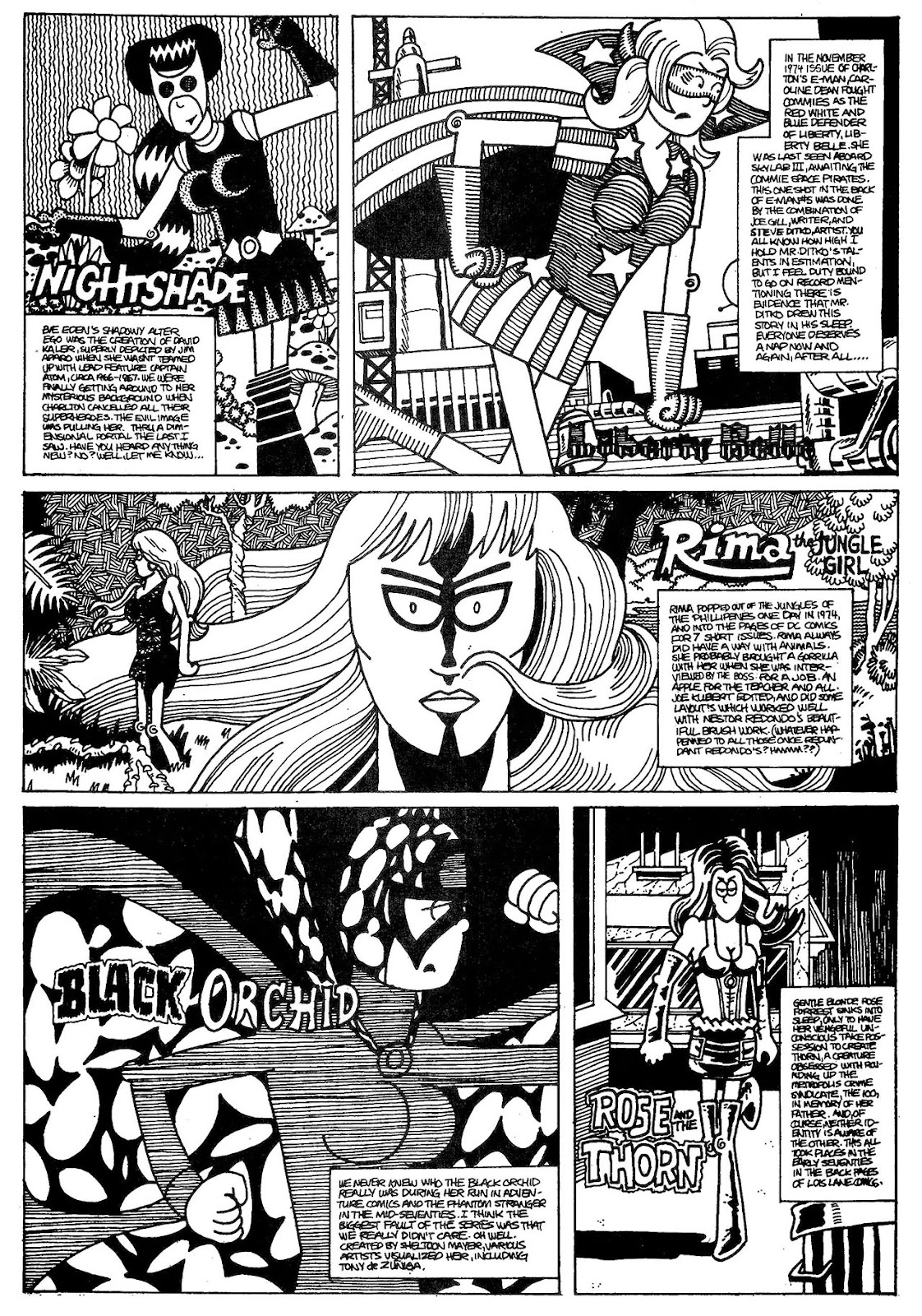 Read online The Nearly Complete Essential Hembeck Archives Omnibus comic -  Issue # TPB (Part 1) - 72