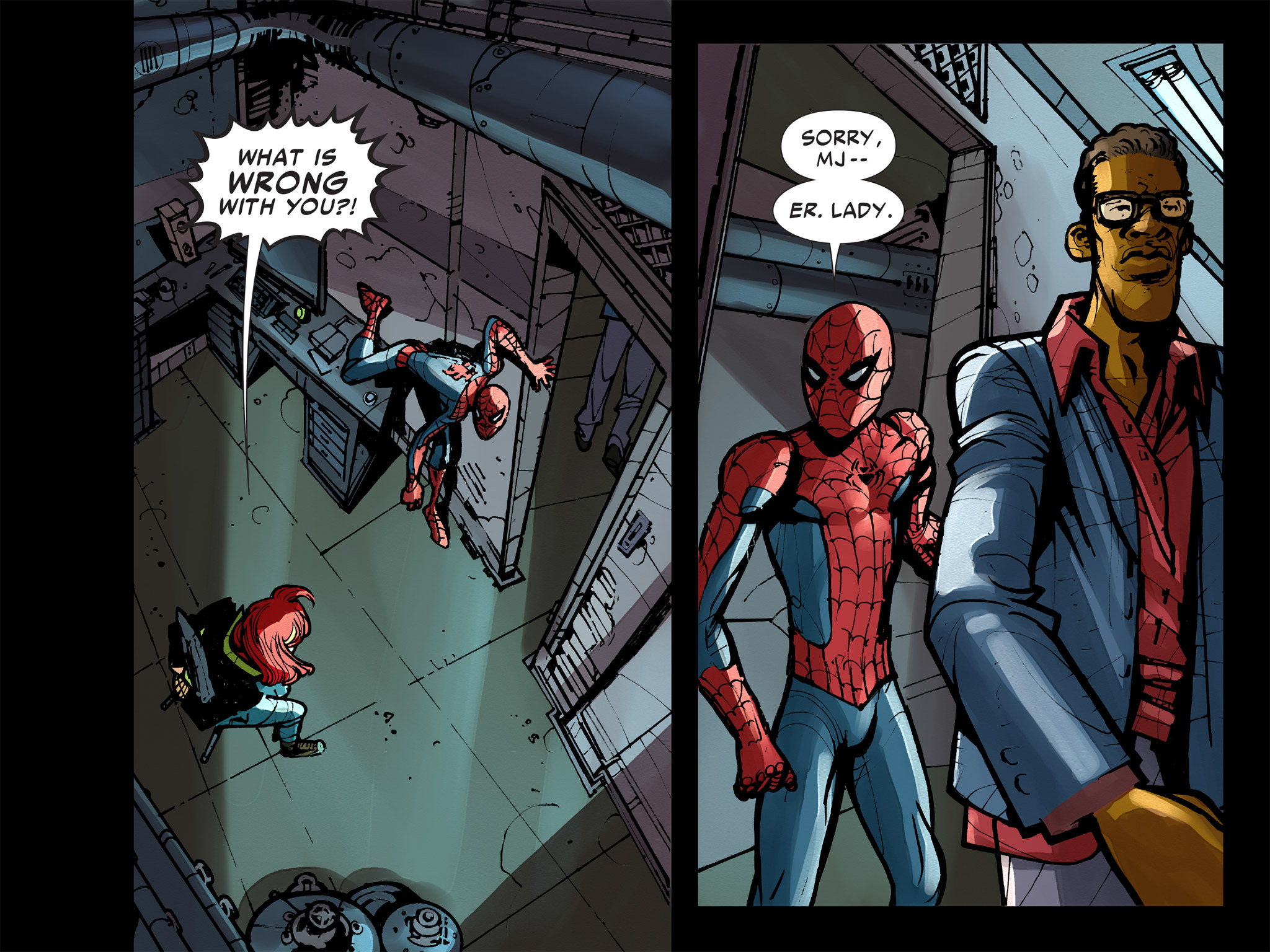 Read online Amazing Spider-Man: Who Am I? comic -  Issue # Full (Part 2) - 112