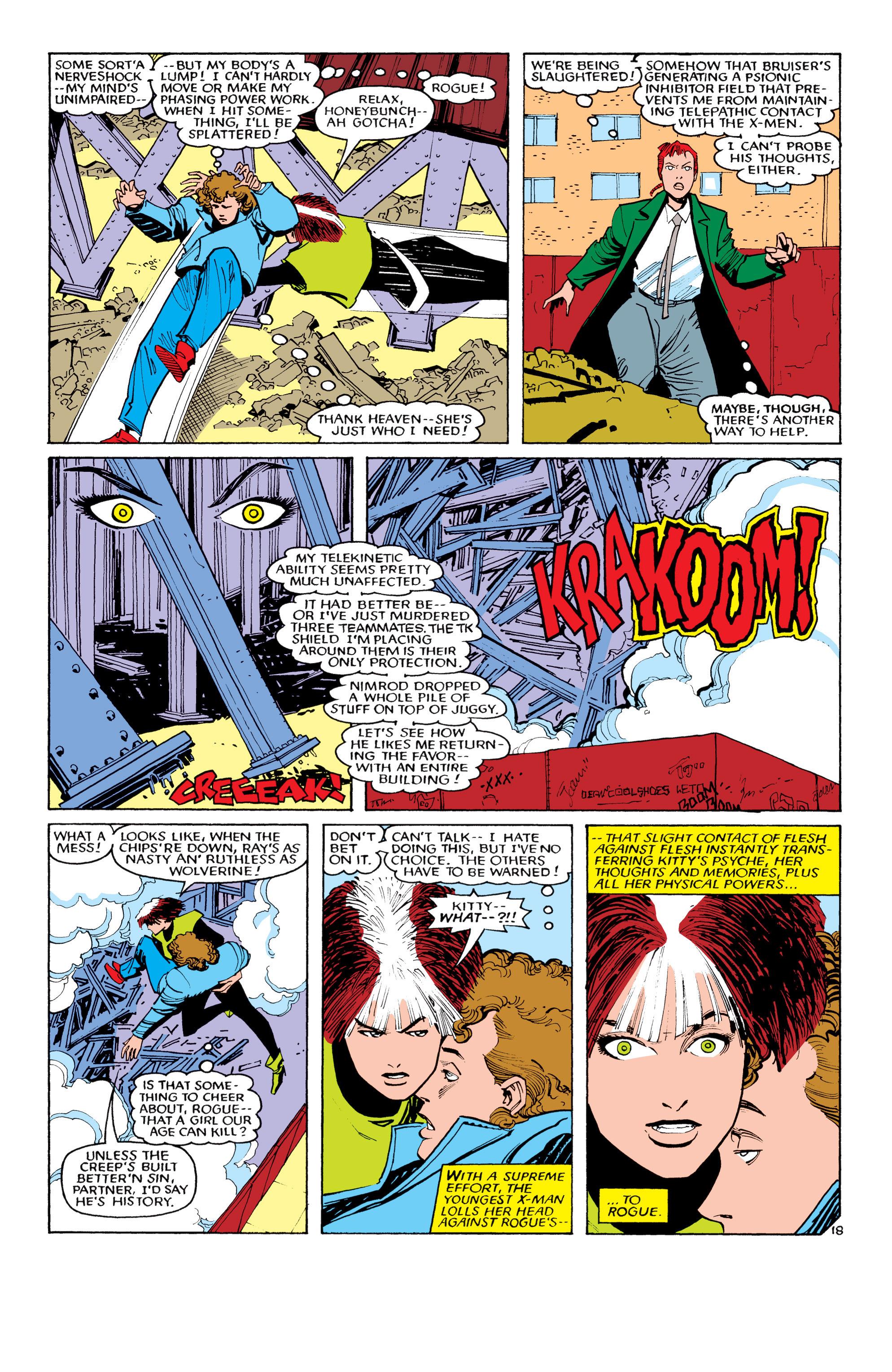 Read online Uncanny X-Men (1963) comic -  Issue #194 - 19