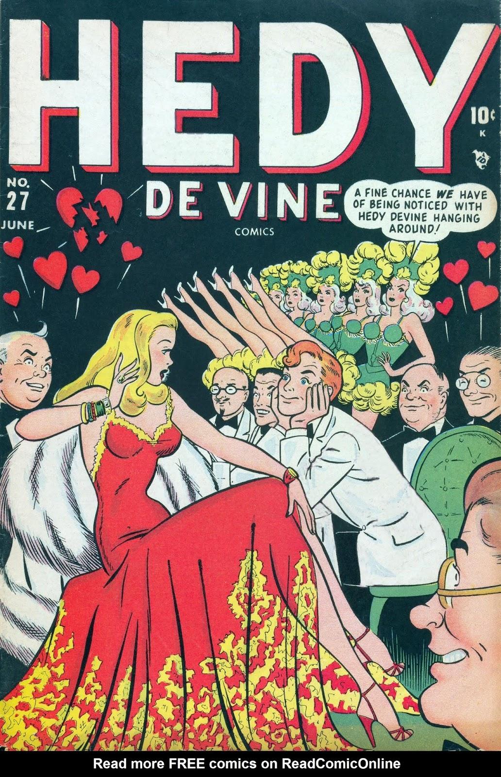 Hedy De Vine Comics 27 Page 1