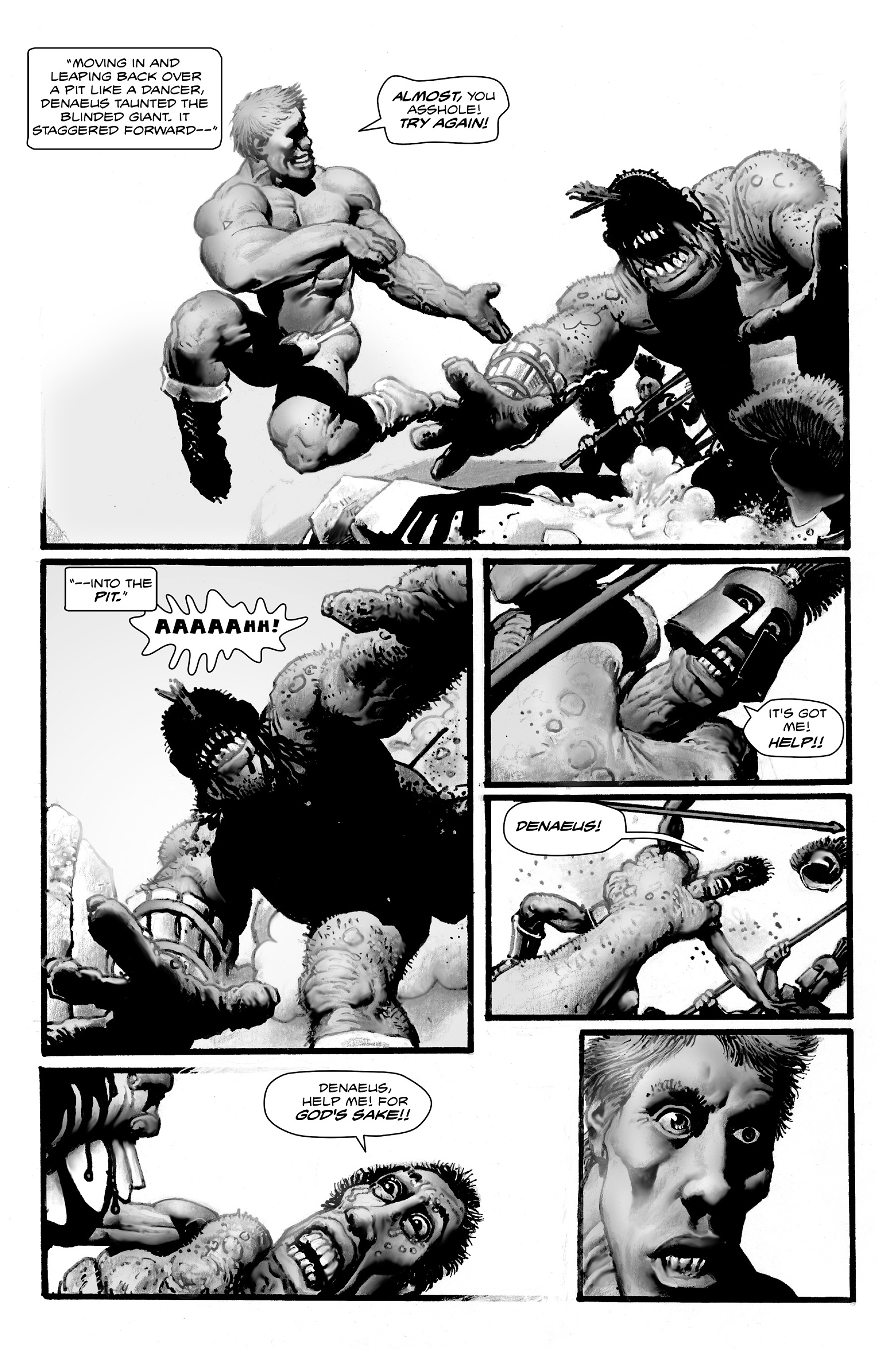 Read online Shadows on the Grave comic -  Issue #4 - 26