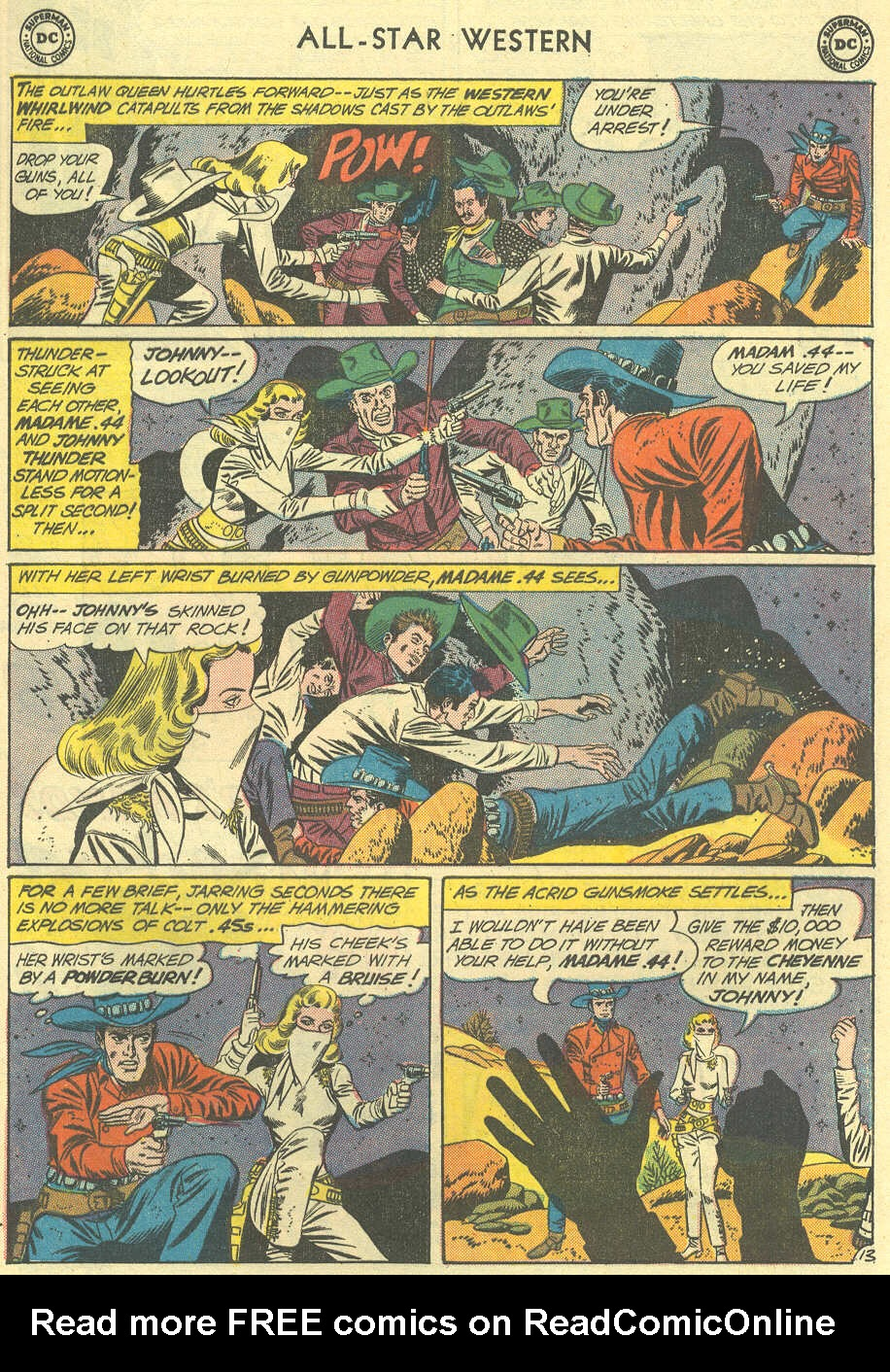 Read online All-Star Western (1951) comic -  Issue #119 - 17