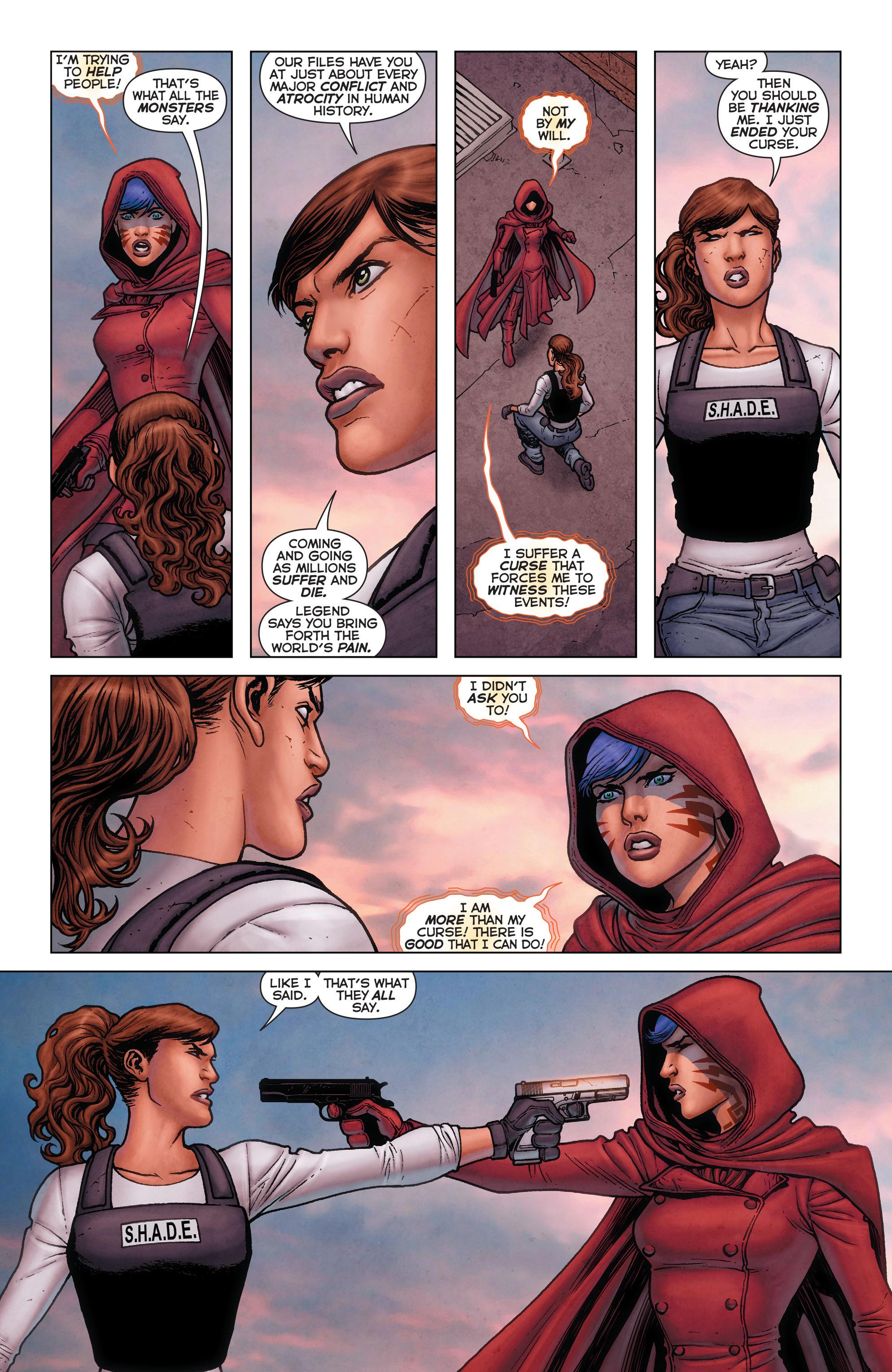 Read online Trinity of Sin: Pandora comic -  Issue #11 - 17