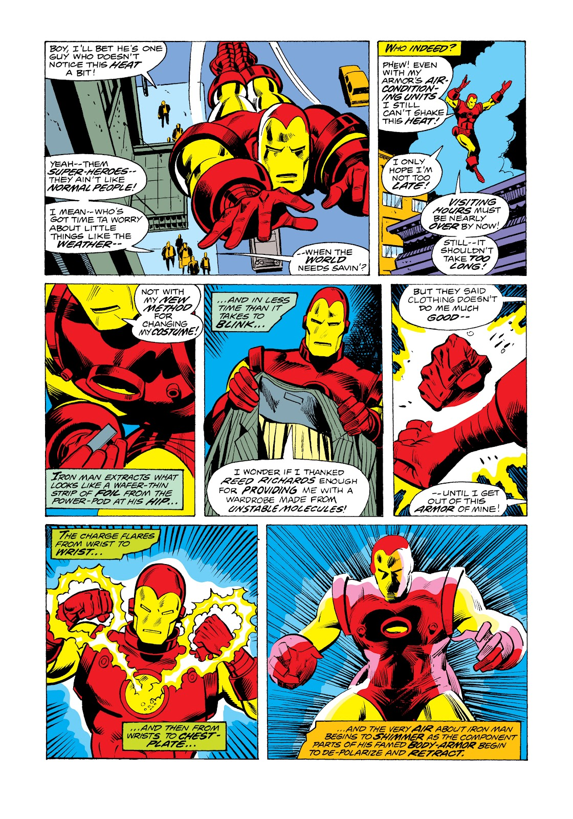 Read online Marvel Masterworks: The Invincible Iron Man comic -  Issue # TPB 11 (Part 1) - 87