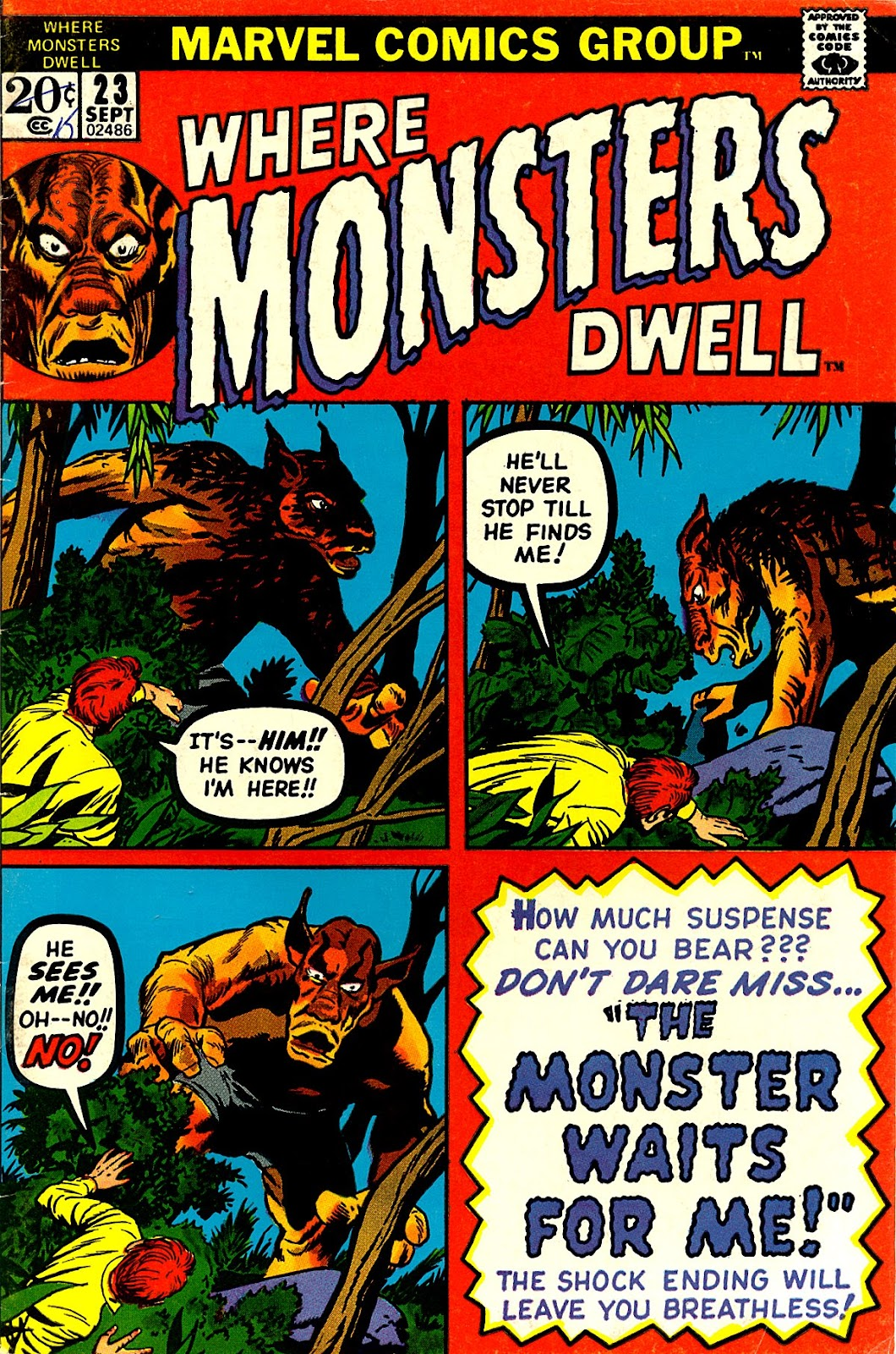 Where Monsters Dwell (1970) issue 23 - Page 1