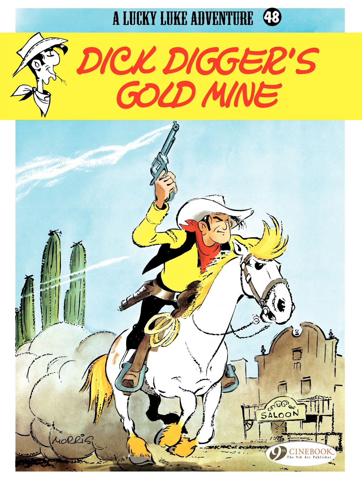 A Lucky Luke Adventure 48 Page 1