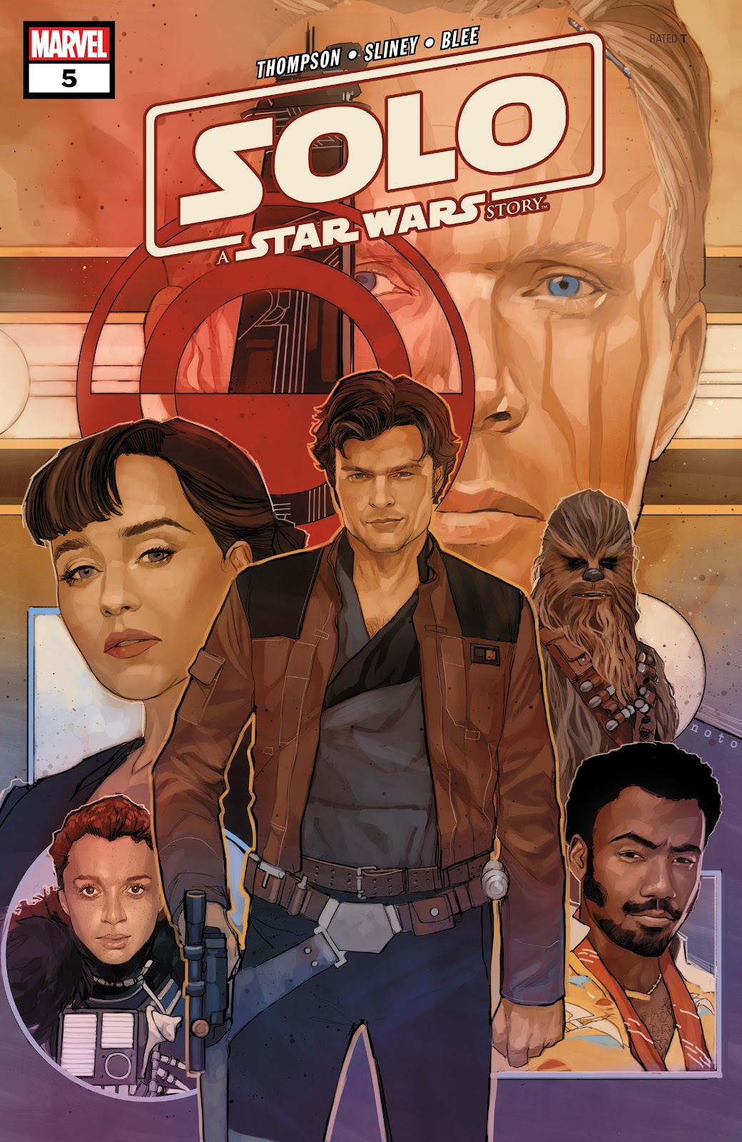 Read online Solo: A Star Wars Story Adaptation comic -  Issue #5 - 1