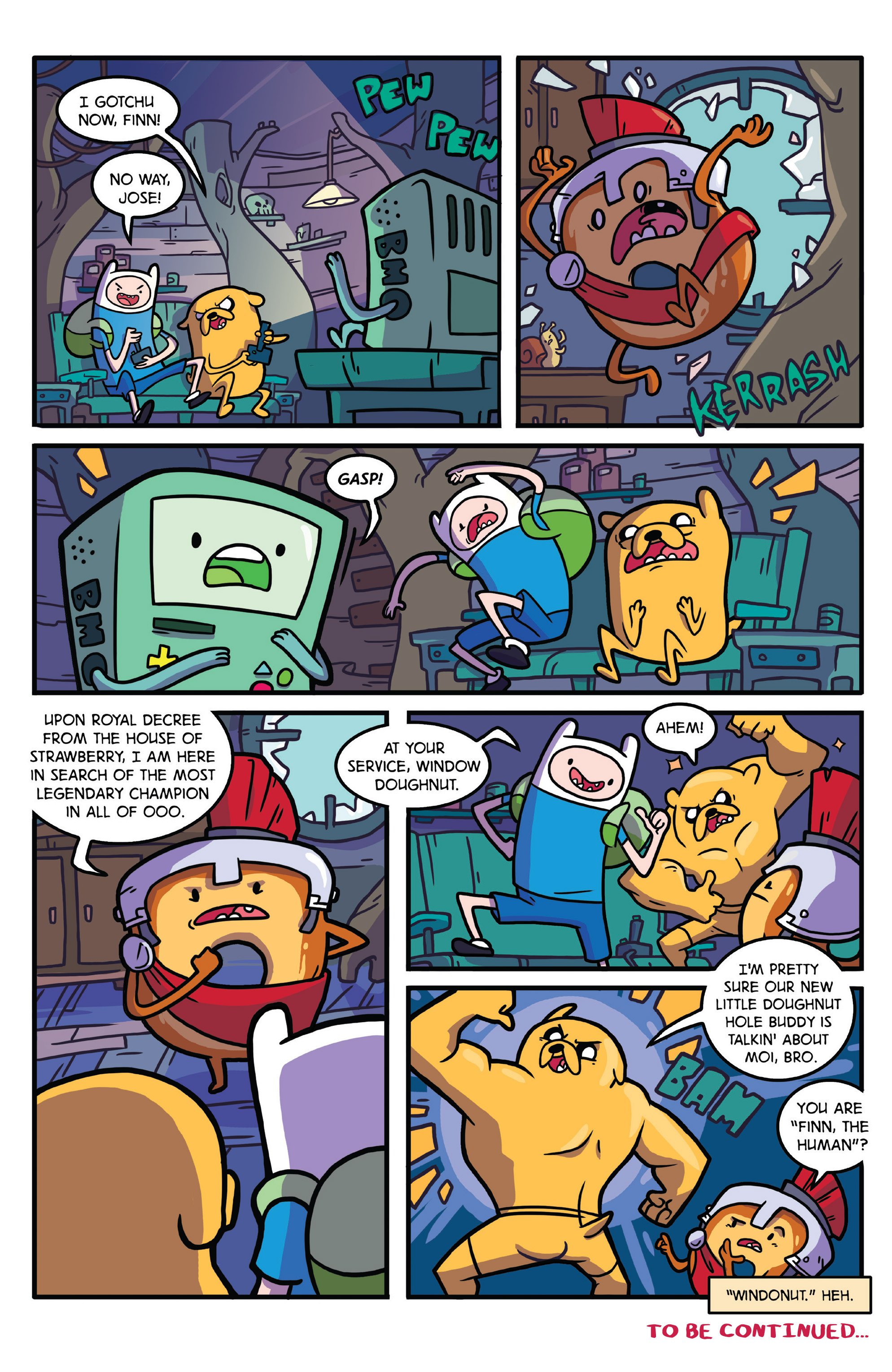 Read online Adventure Time comic -  Issue #27 - 26