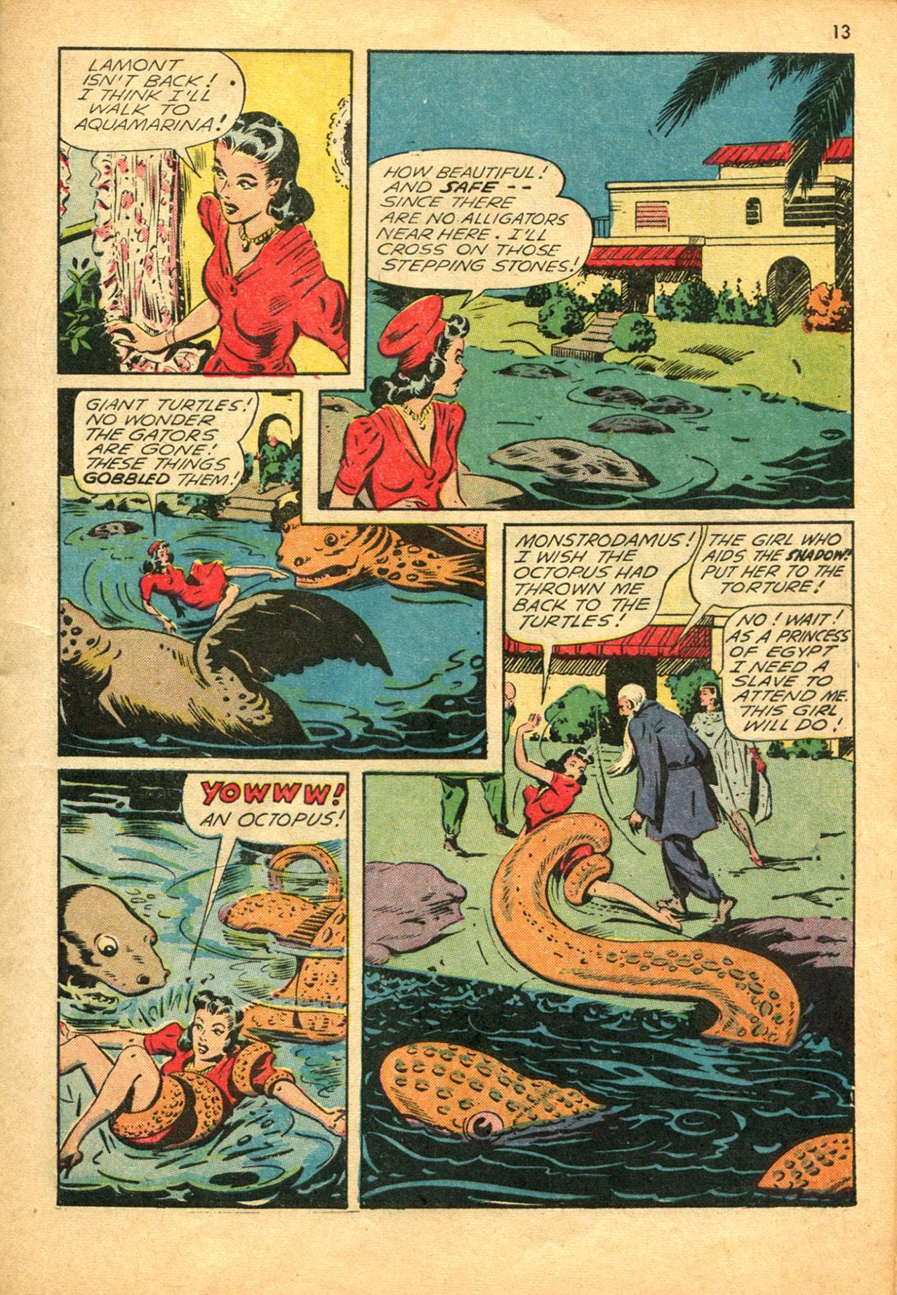 Read online Shadow Comics comic -  Issue #30 - 13