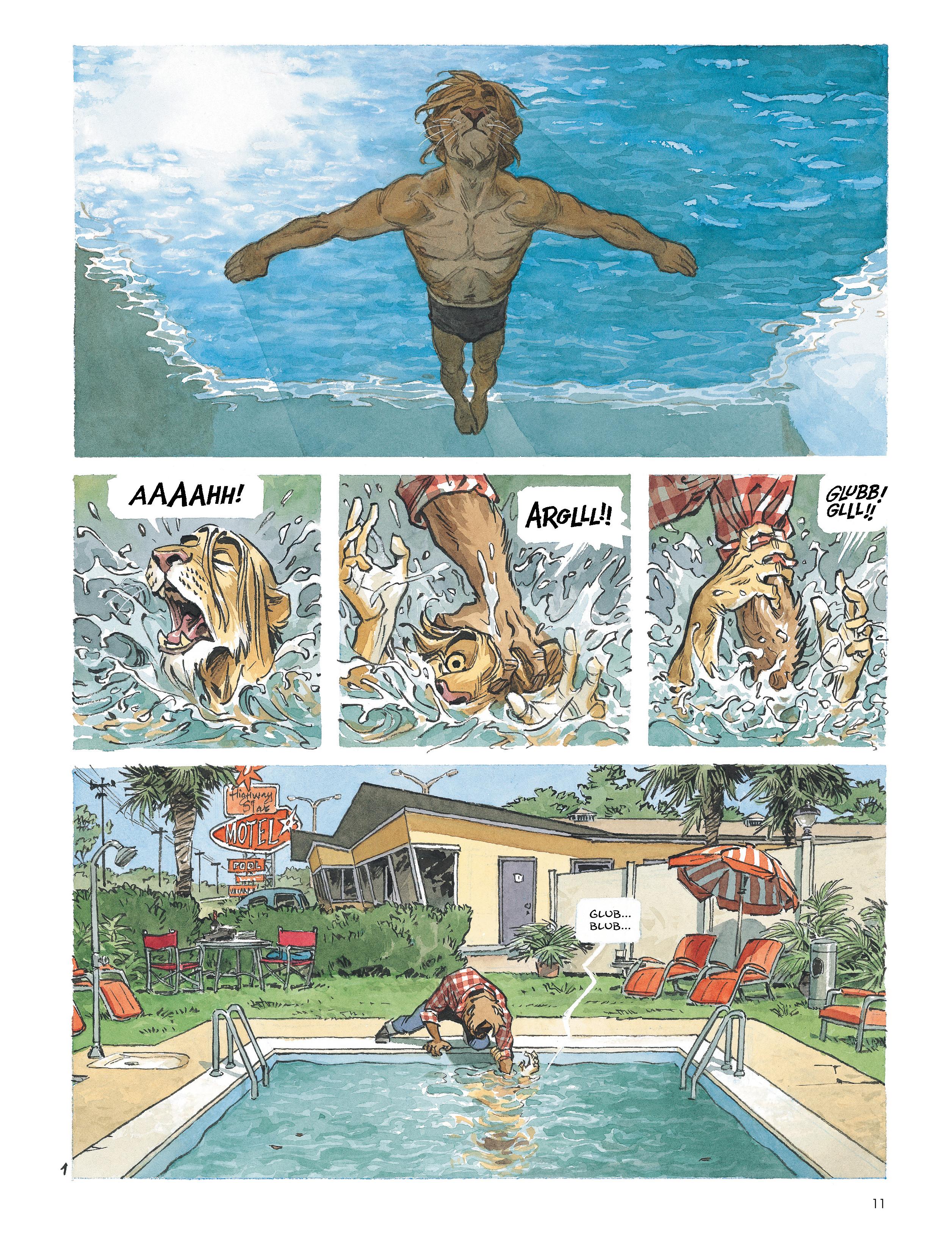 Read online Blacksad: Amarillo comic -  Issue # Full - 10