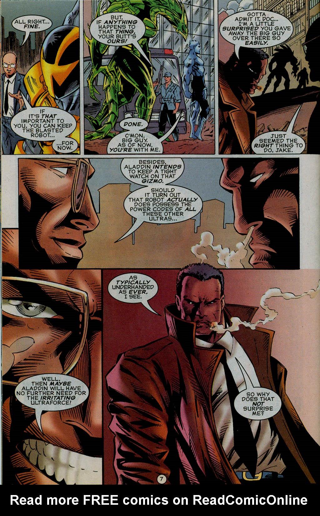 Read online UltraForce (1995) comic -  Issue #13 - 8