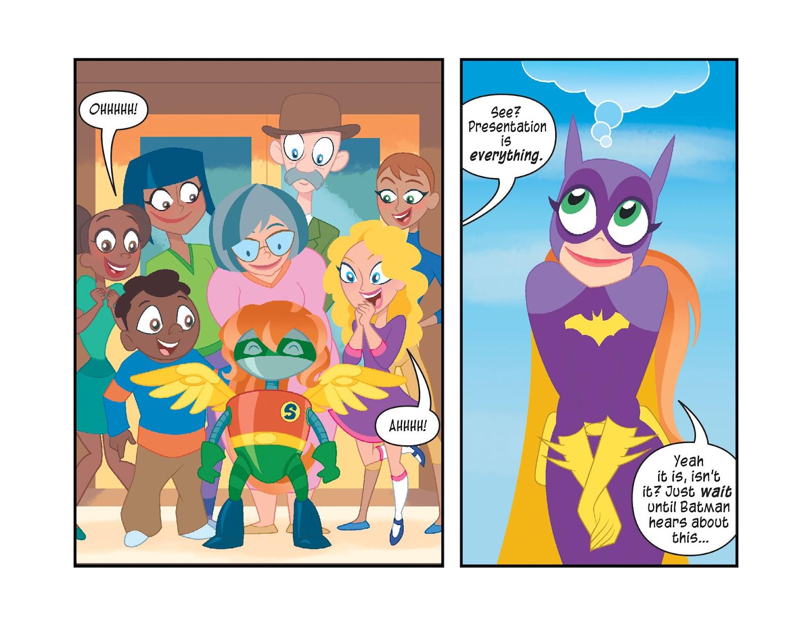 Read online DC Super Hero Girls: Weird Science comic -  Issue #10 - 19
