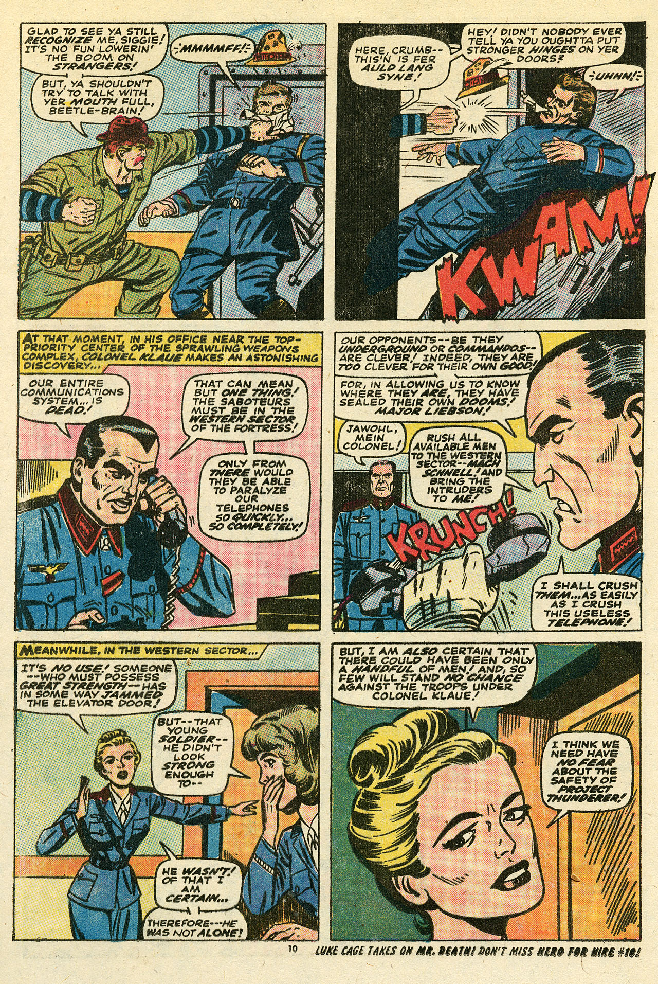 Read online Sgt. Fury comic -  Issue #111 - 12