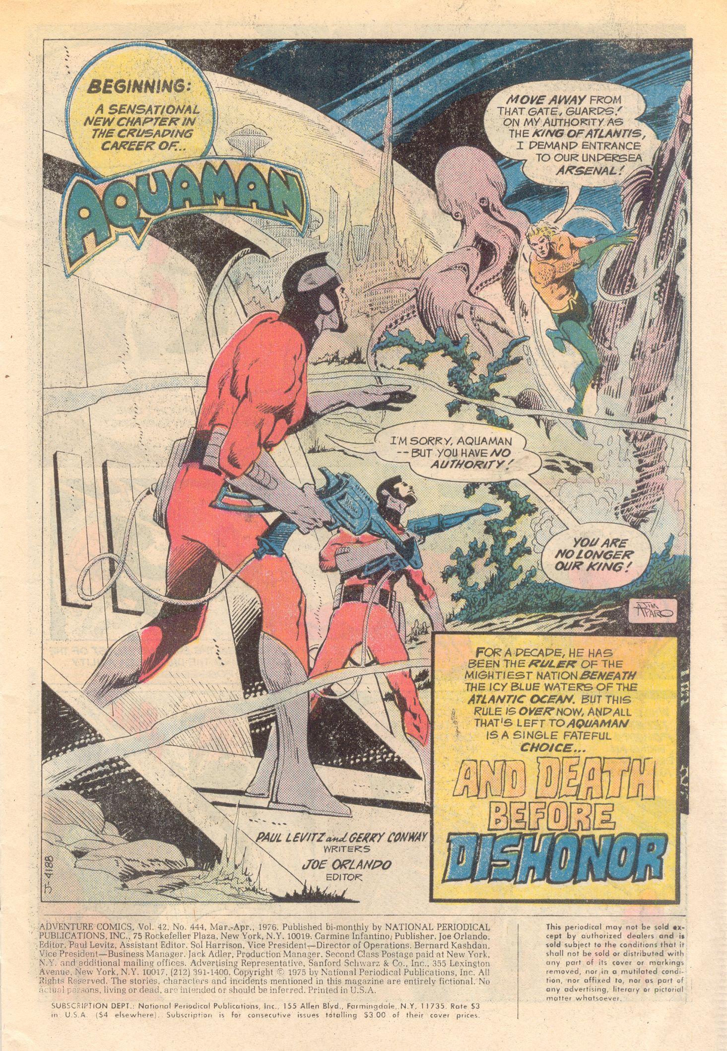 Read online Adventure Comics (1938) comic -  Issue #444 - 3