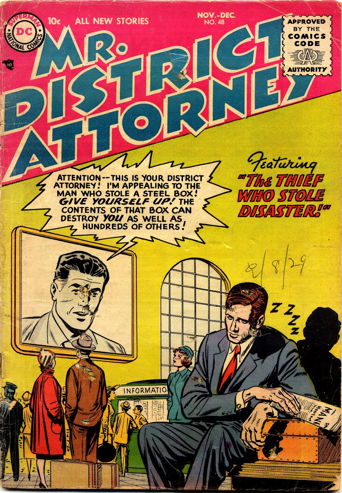 Mr. District Attorney issue 48 - Page 1