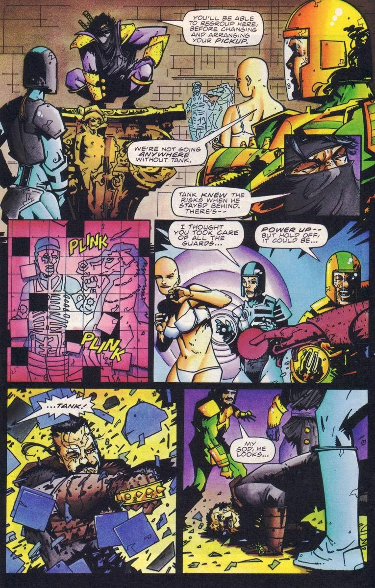 Read online Secret Weapons comic -  Issue #18 - 11