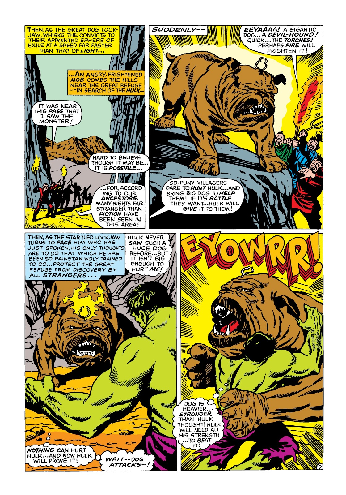 Read online Marvel Masterworks: The Incredible Hulk comic -  Issue # TPB 4 (Part 2) - 42