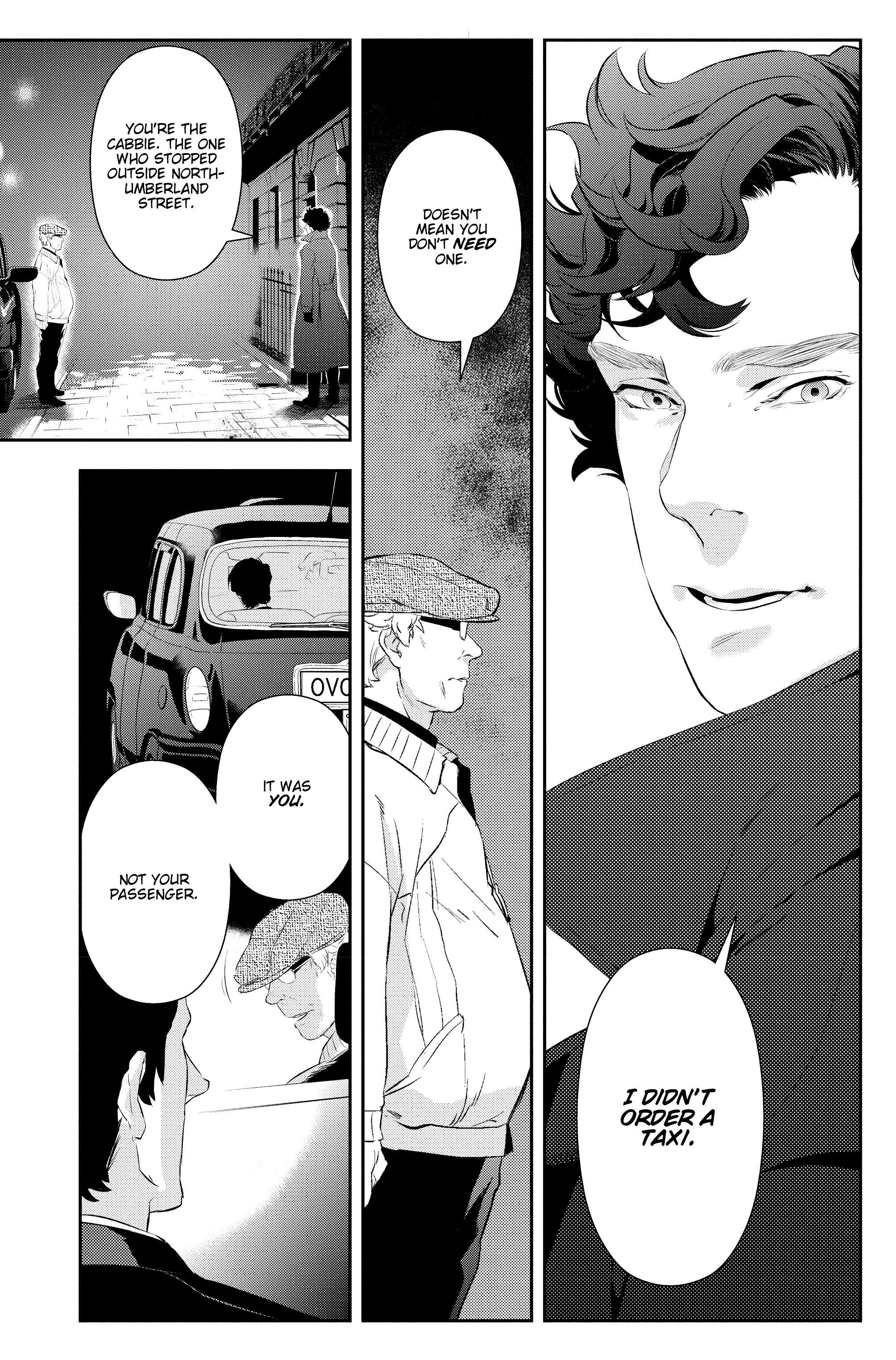 Read online Sherlock: A Study In Pink comic -  Issue #5 - 23