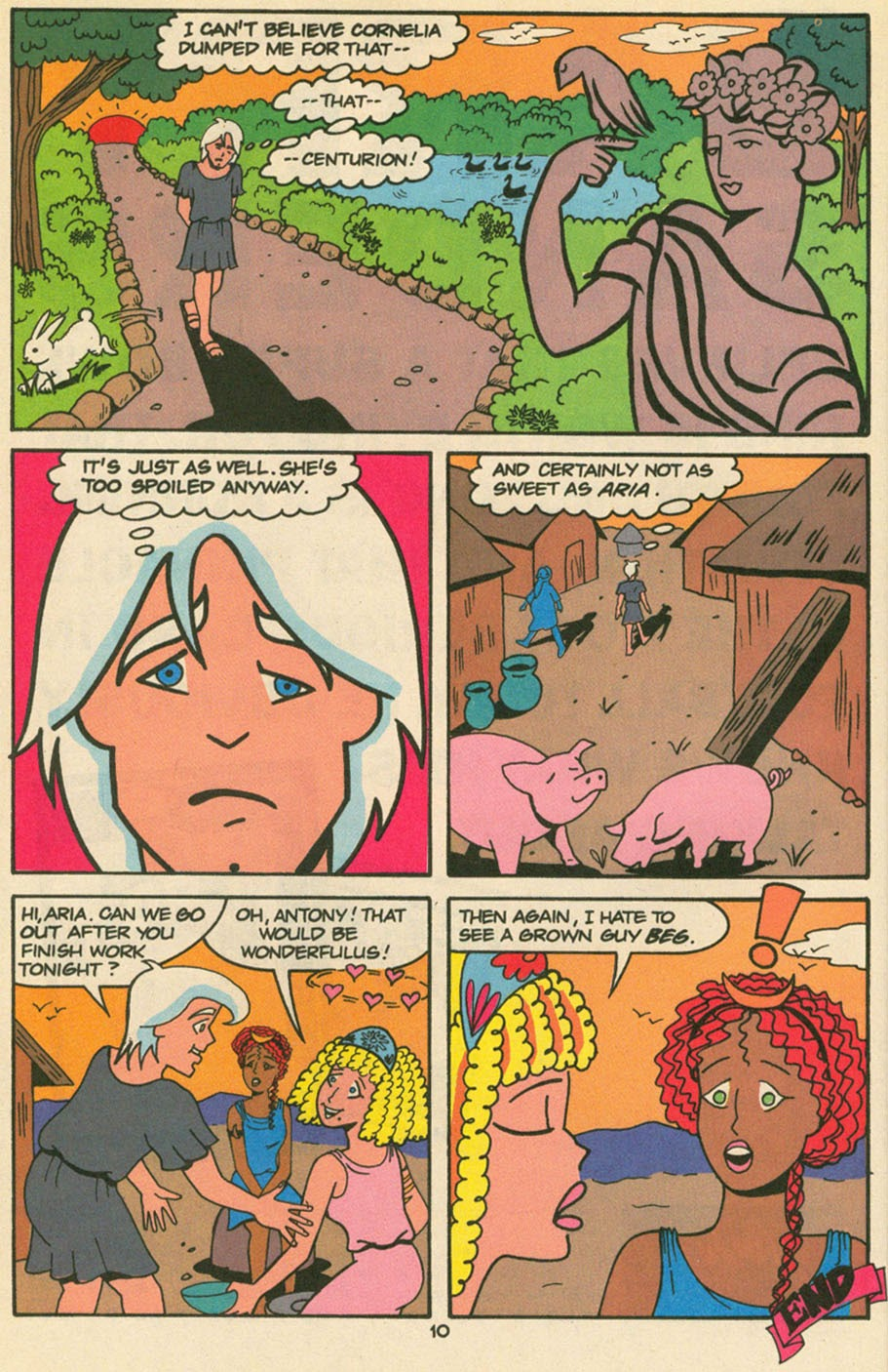 Read online Sweet XVI (Sixteen): Back To School Special comic -  Issue # Full - 7