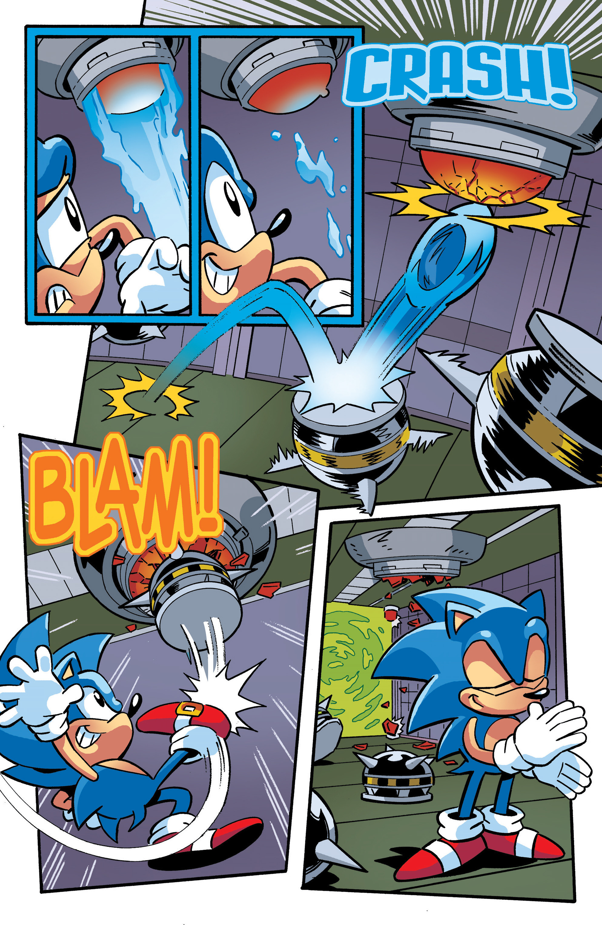 Read online Sonic The Hedgehog comic -  Issue #289 - 11