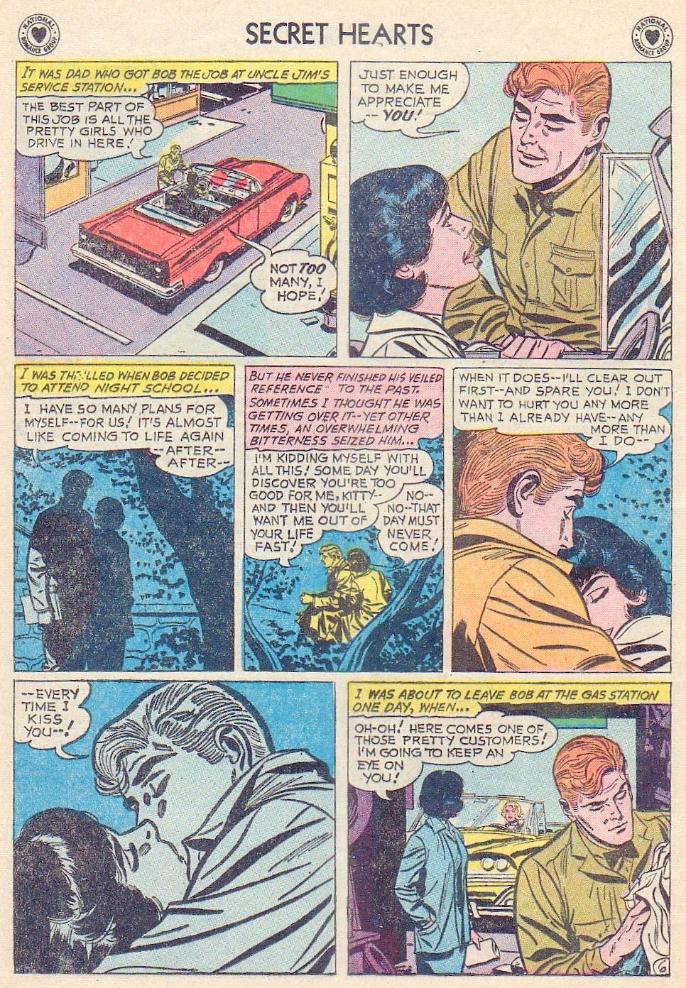 Read online Secret Hearts comic -  Issue #72 - 8