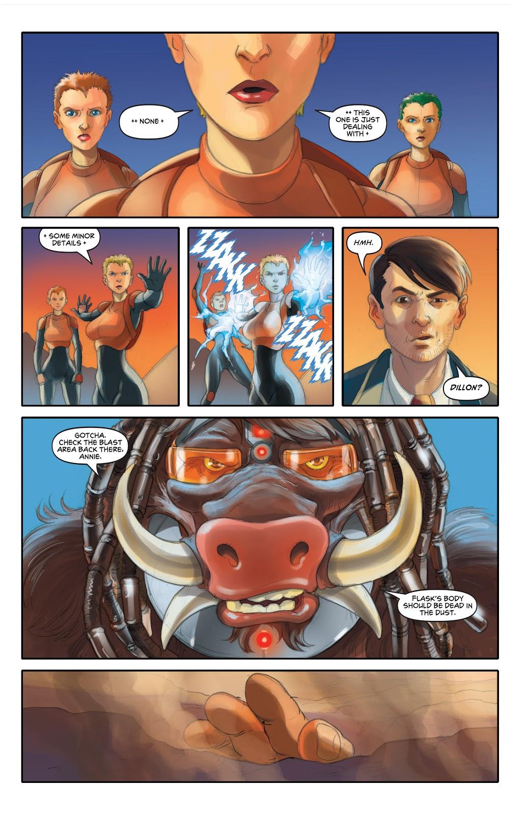 Read online Elephantmen 2261 Season Two: The Pentalion Job comic -  Issue # TPB - 80