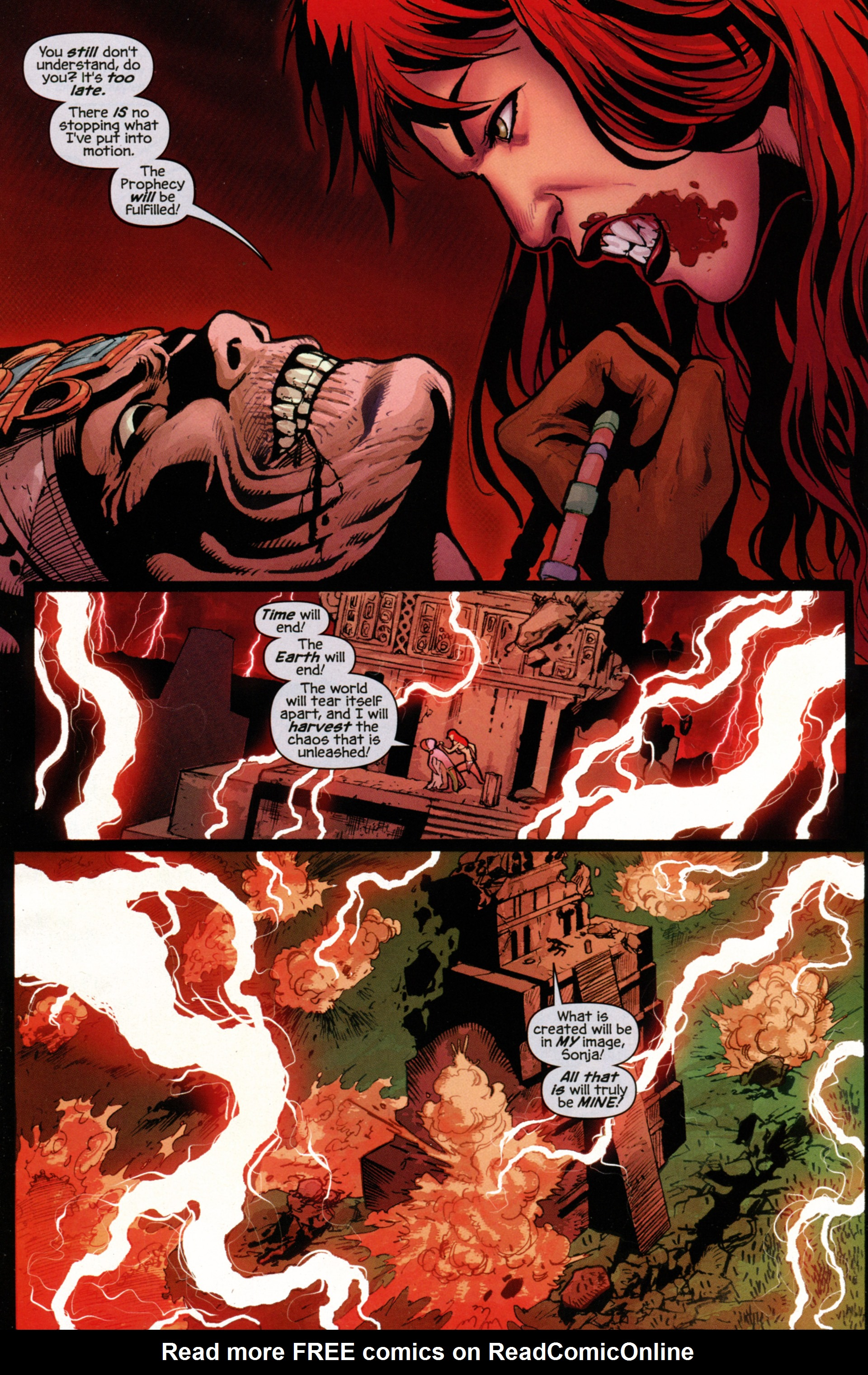 Read online Prophecy comic -  Issue #7 - 6