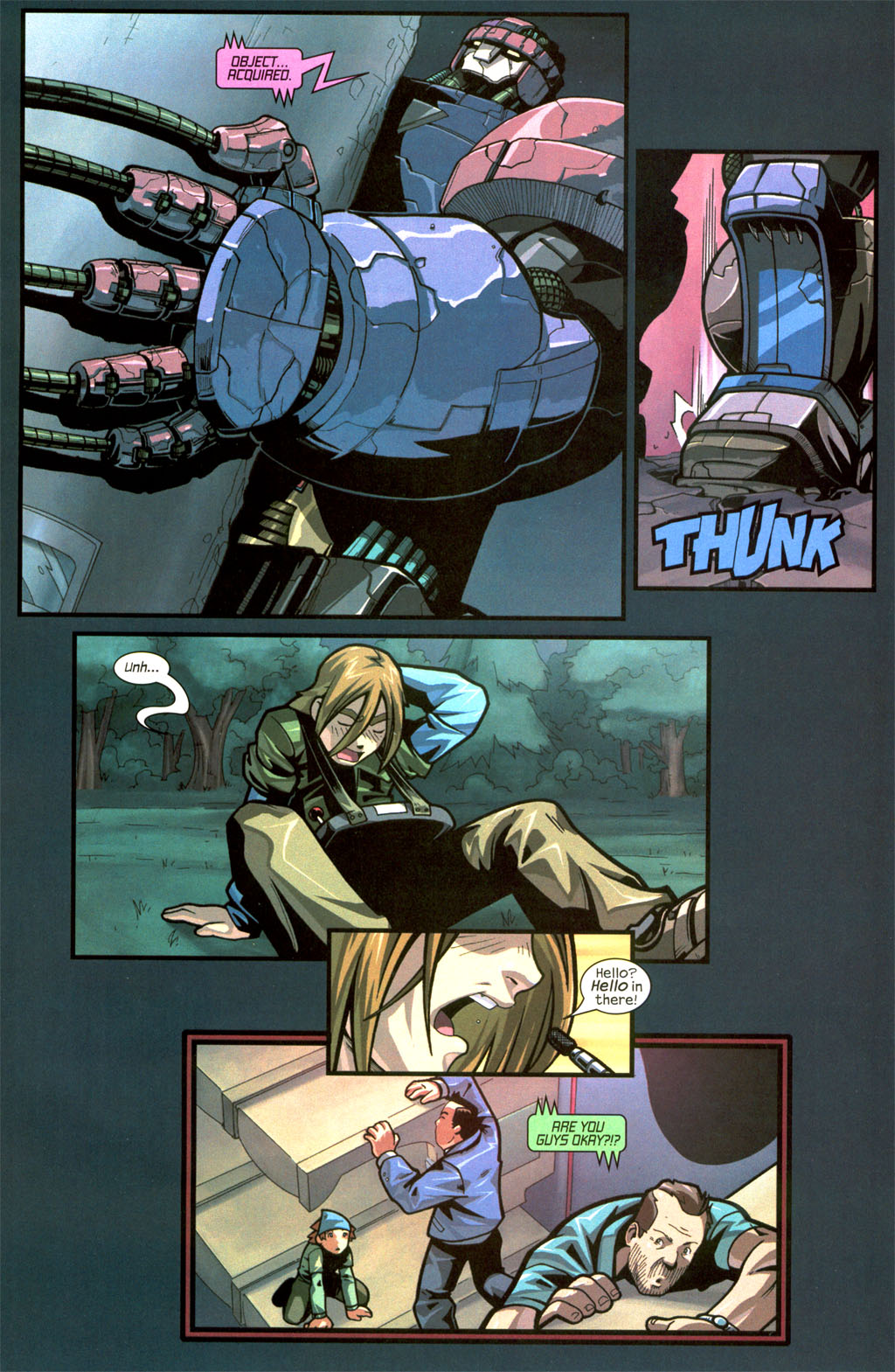 Read online Sentinel comic -  Issue #8 - 16