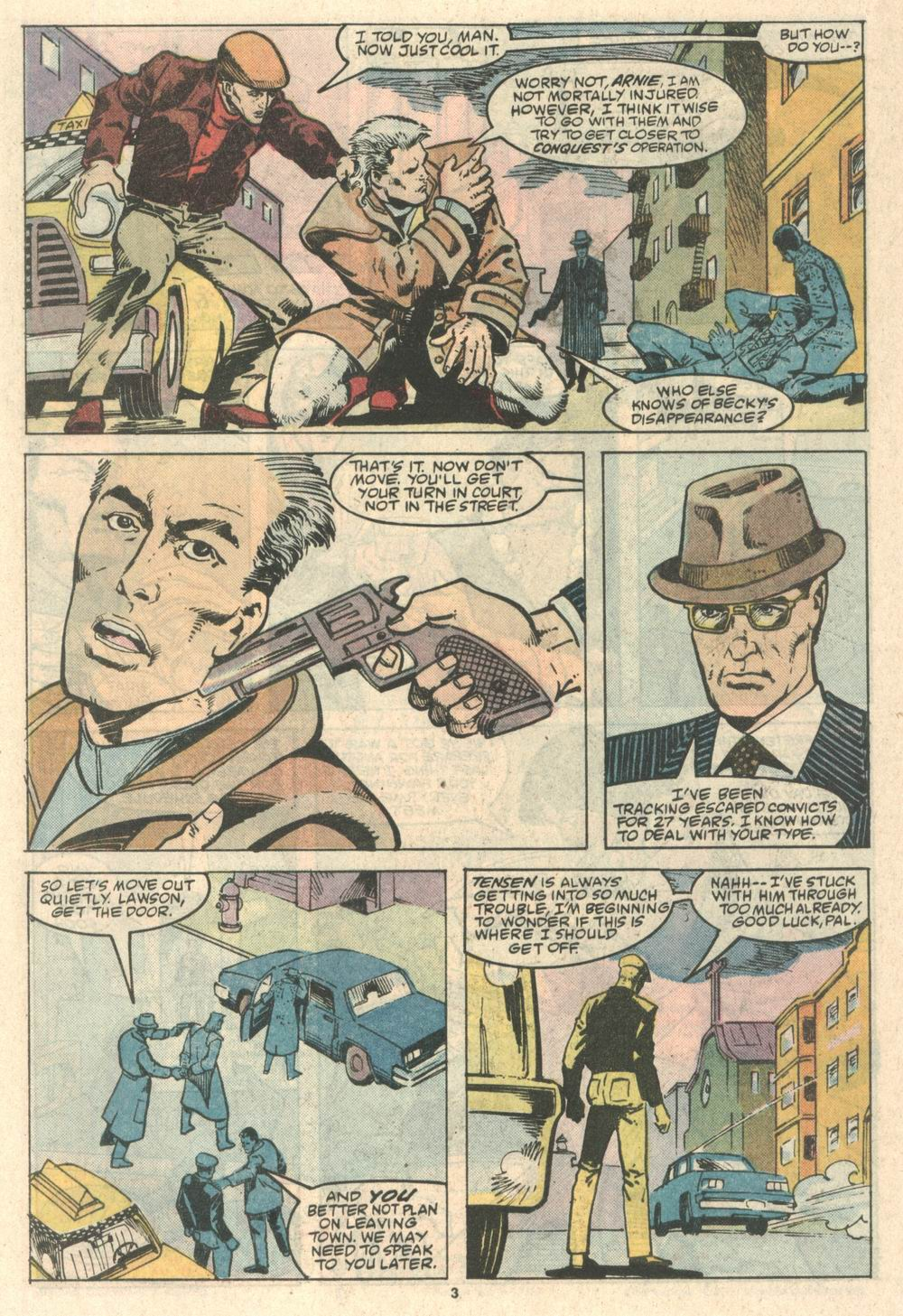 Read online Justice (1986) comic -  Issue #8 - 4