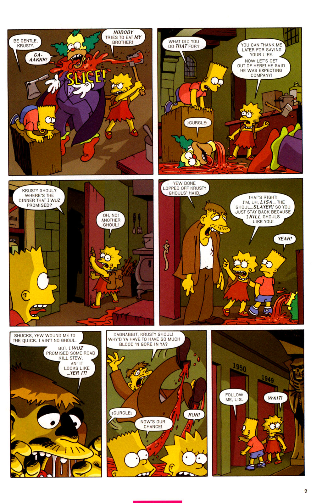 Read online Treehouse of Horror comic -  Issue #11 - 40