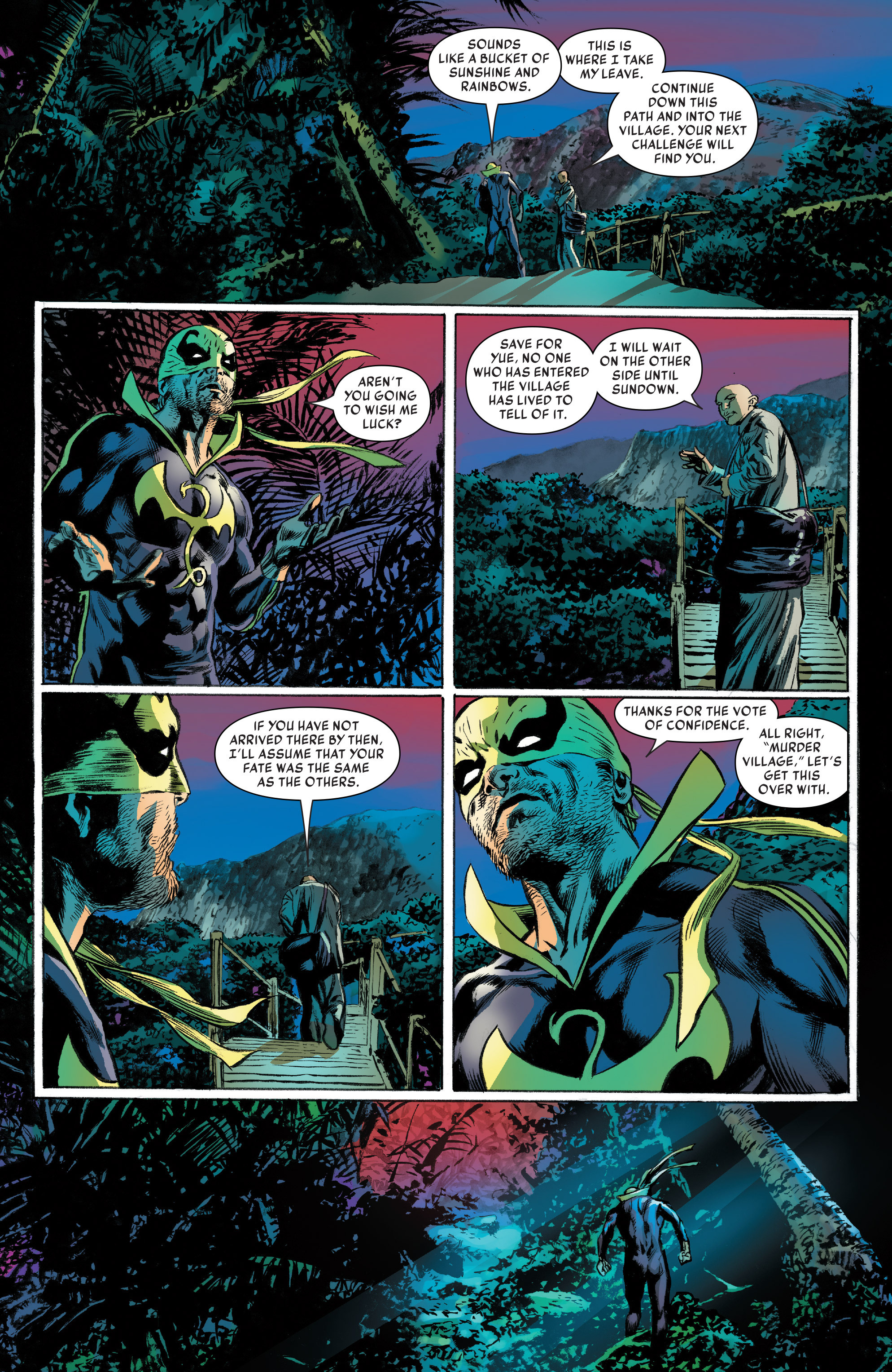 Read online Iron Fist (2017) comic -  Issue #2 - 18