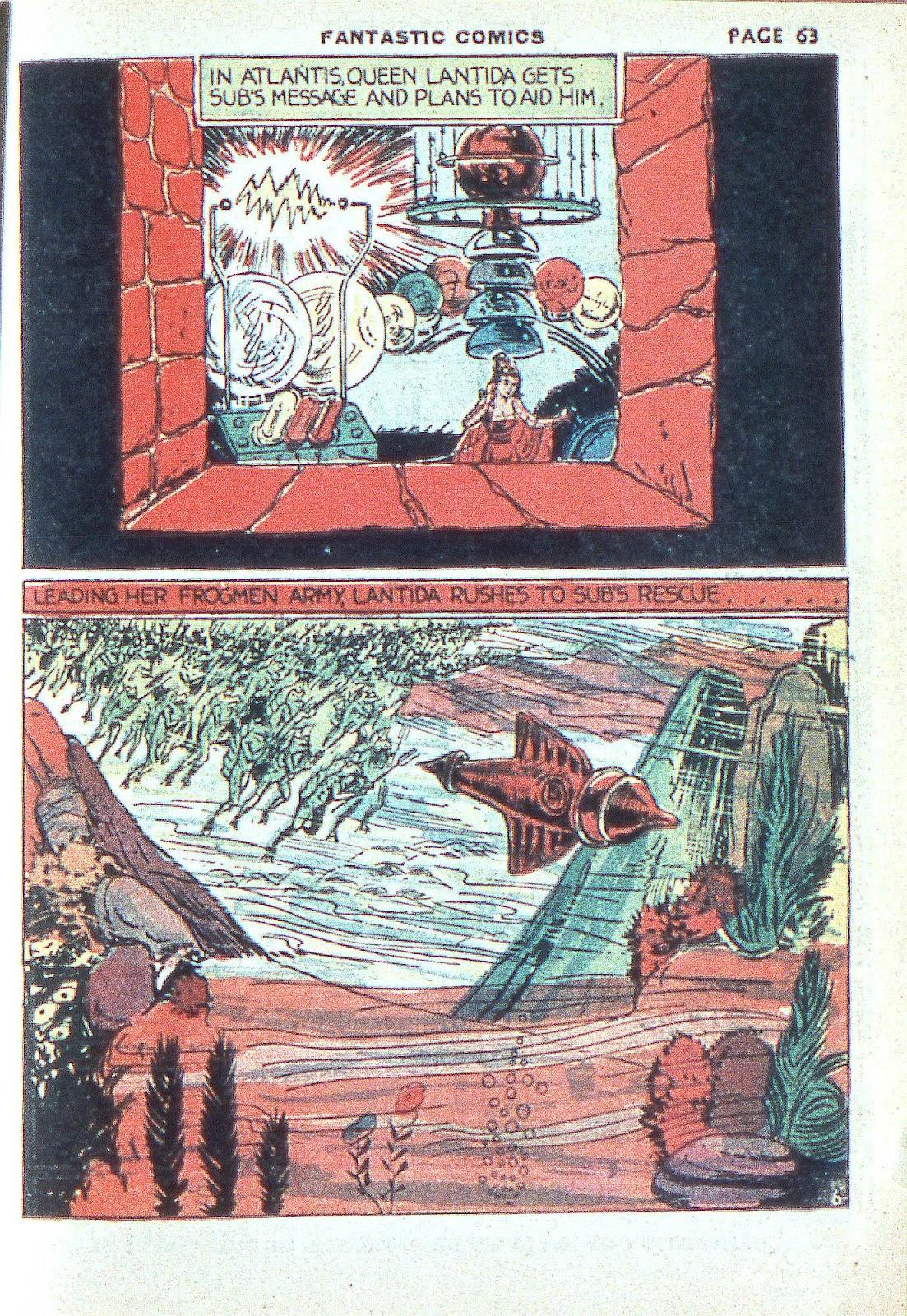 Read online Fantastic Comics comic -  Issue #3 - 65