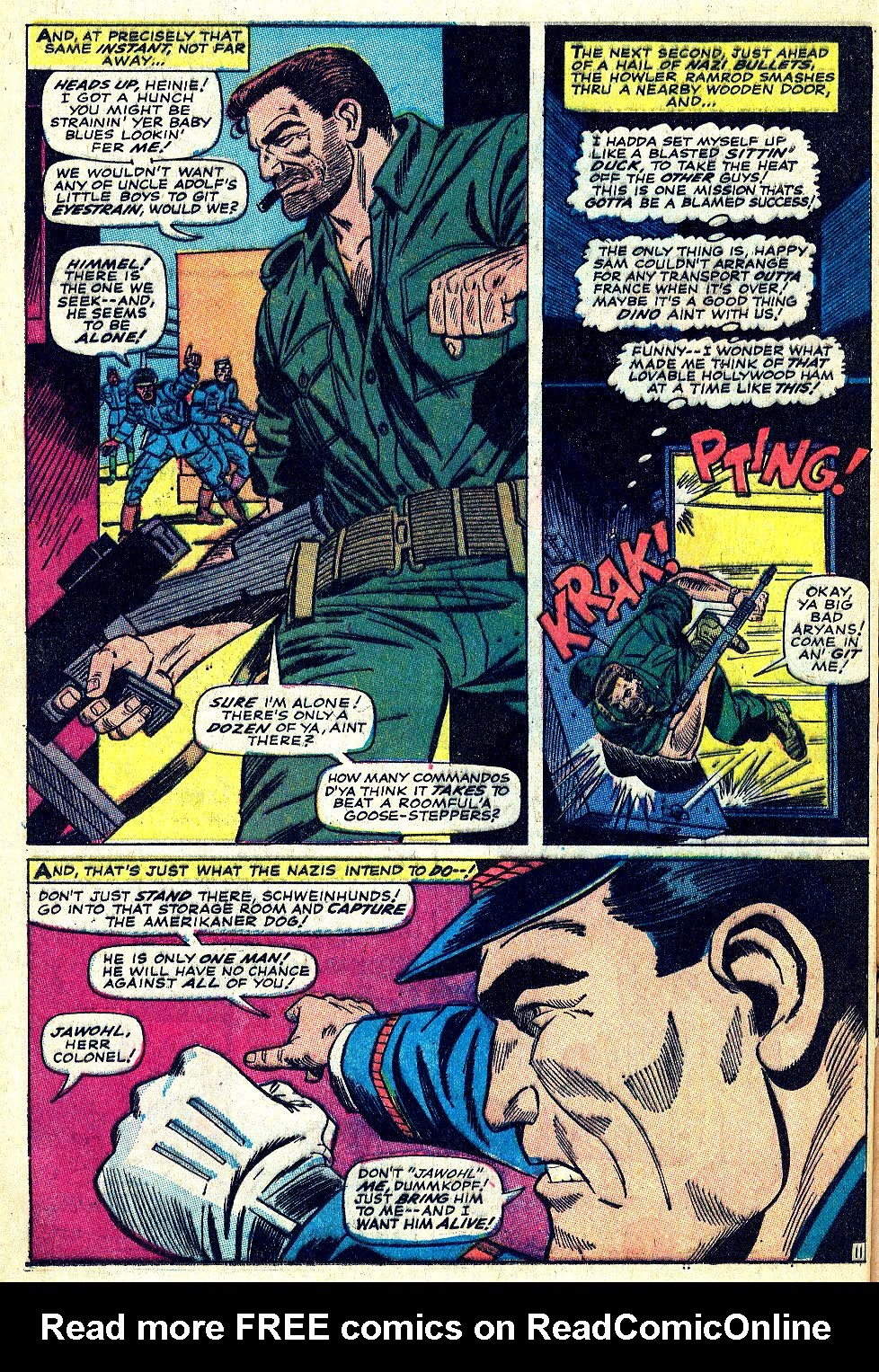 Read online Sgt. Fury comic -  Issue #39 - 16