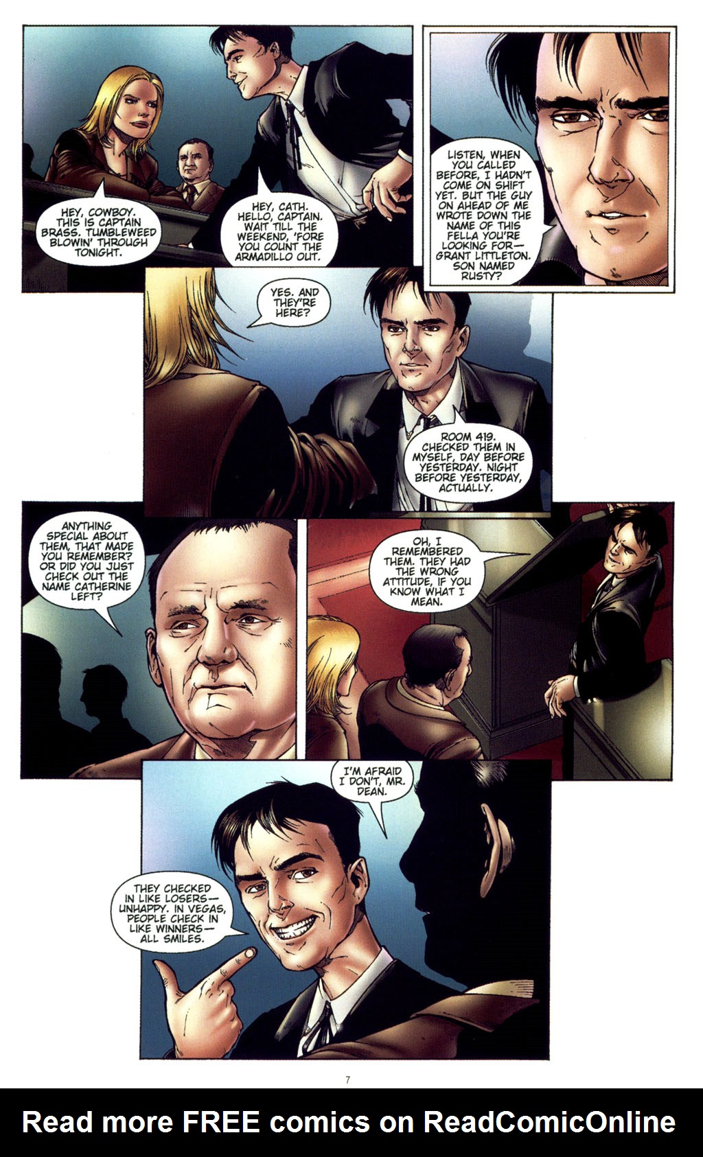 Read online CSI: Crime Scene Investigation: Bad Rap comic -  Issue #4 - 8
