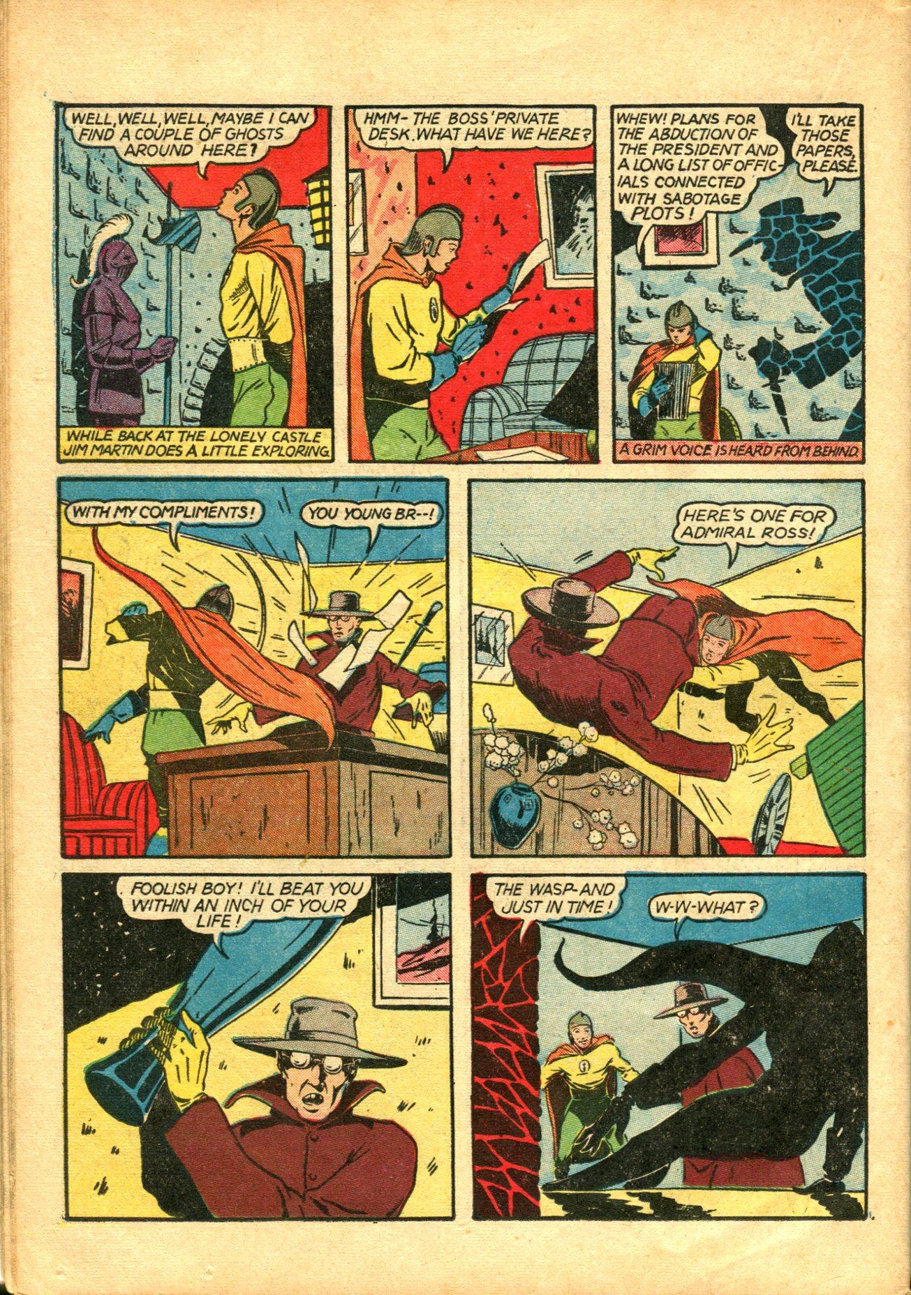 Read online Shadow Comics comic -  Issue #10 - 48