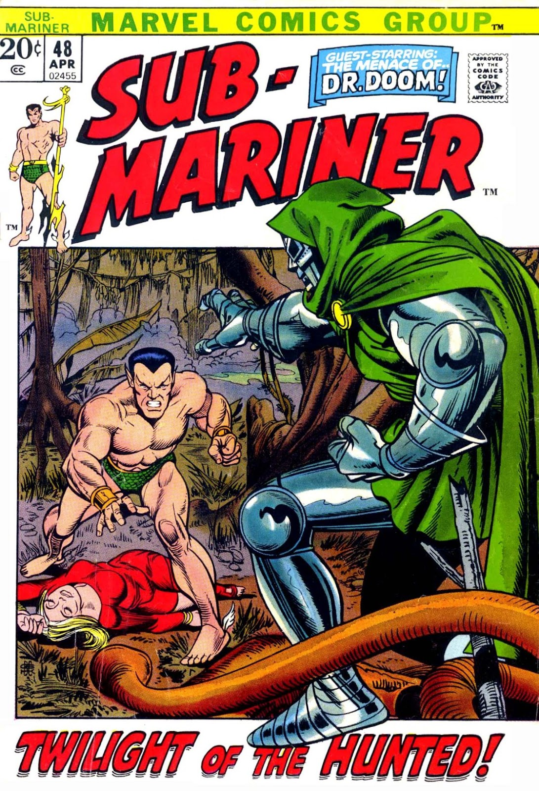 The Sub-Mariner 48 Page 1