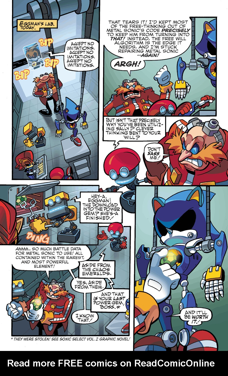 Read online Sonic Universe comic -  Issue #50 - 6