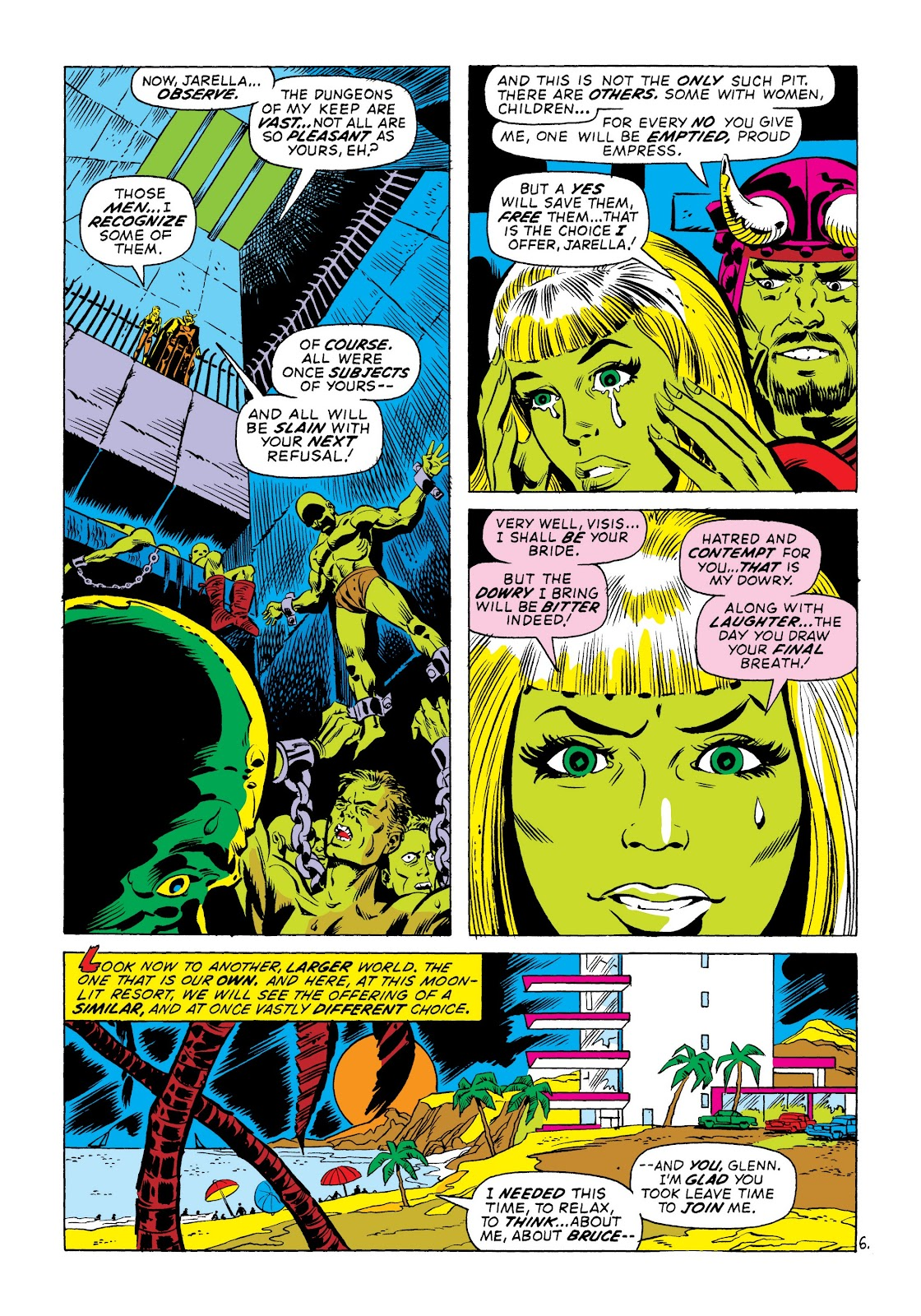 Read online Marvel Masterworks: The Incredible Hulk comic -  Issue # TPB 8 (Part 3) - 67