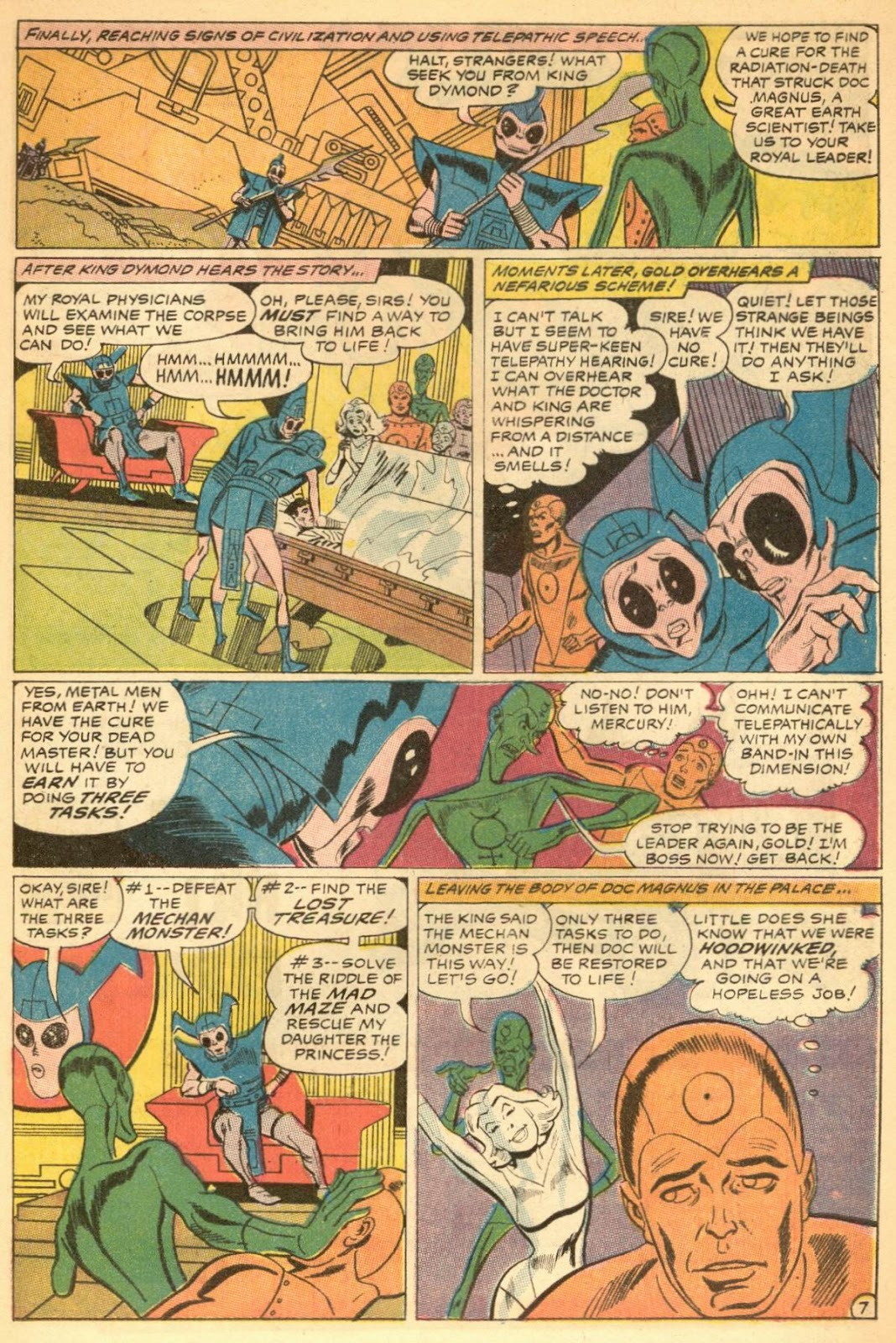 Metal Men (1963) issue 30 - Page 9