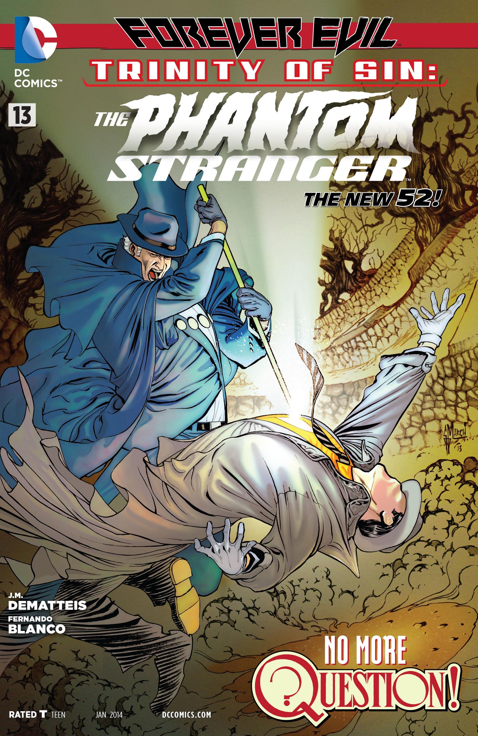 Read online Trinity of Sin: The Phantom Stranger comic -  Issue #13 - 1
