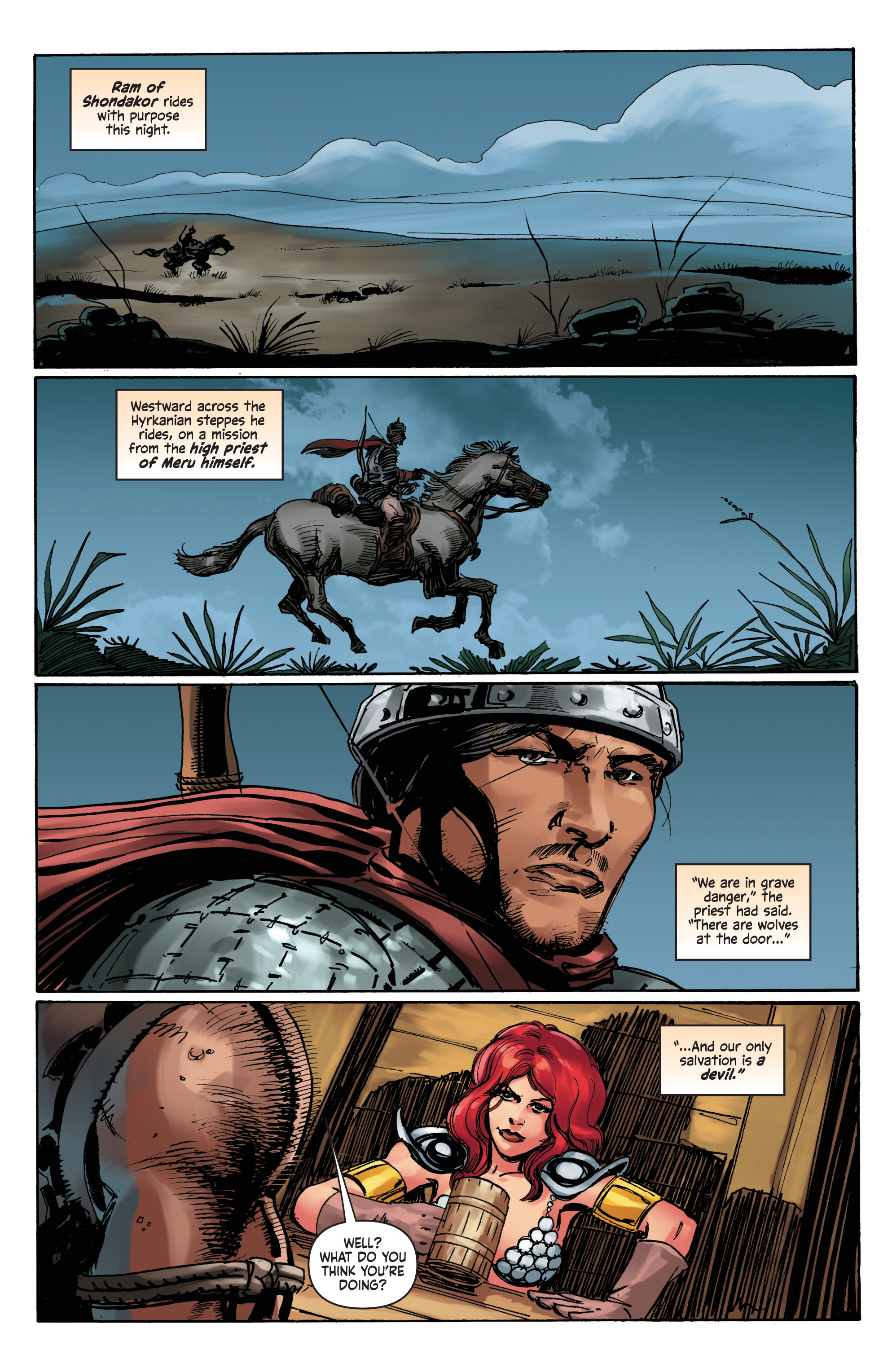 Read online Red Sonja: The Long Walk To Oblivion comic -  Issue # Full - 3