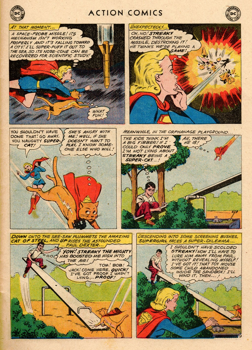 Read online Action Comics (1938) comic -  Issue #266 - 27