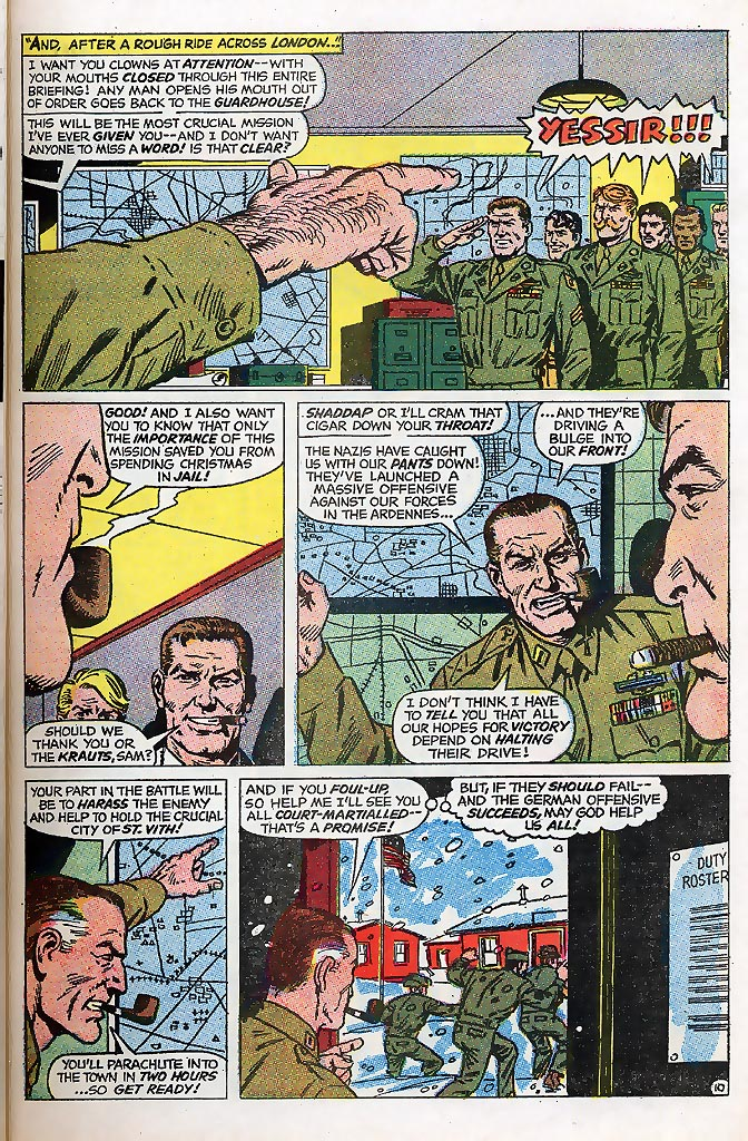 Read online Sgt. Fury comic -  Issue # _Special 4 - 13