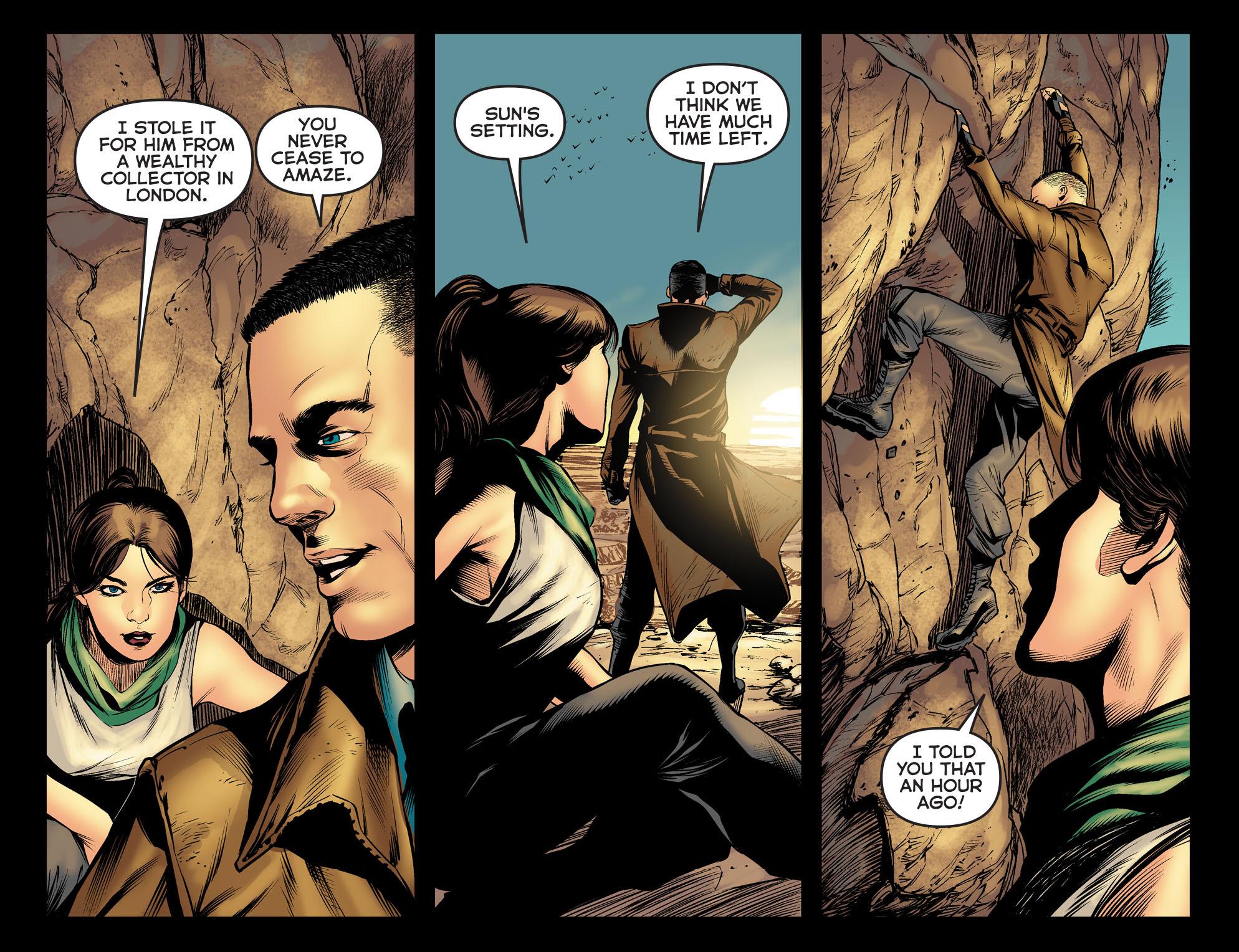 Read online Arrow: The Dark Archer comic -  Issue #5 - 18