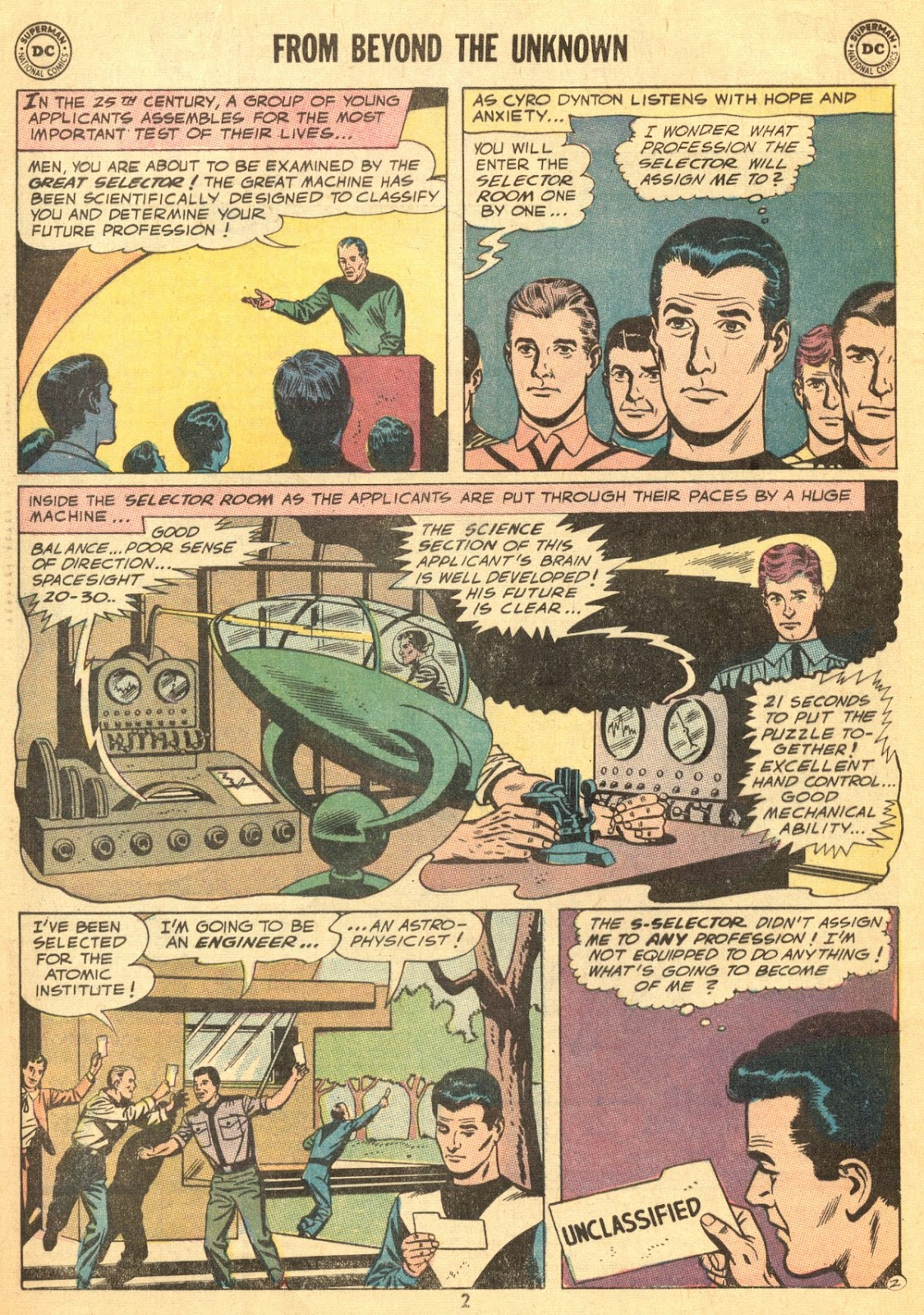 From Beyond the Unknown (1969) issue 9 - Page 4