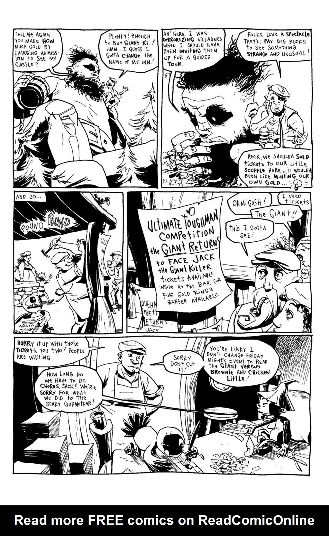 Read online Scary Godmother Comic Book Stories comic -  Issue # TPB - 239